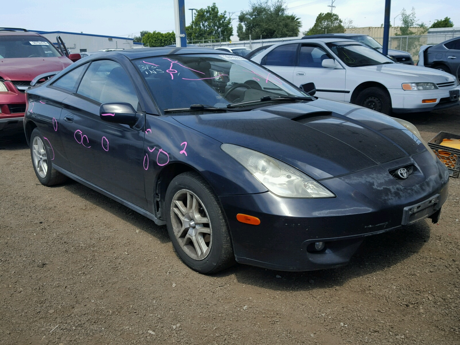 2000 Toyota Celica GT for sale at Copart San Diego CA Lot