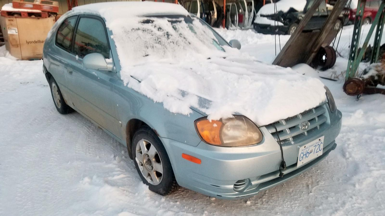 Salvage 2004 Hyundai ACCENT GL for sale