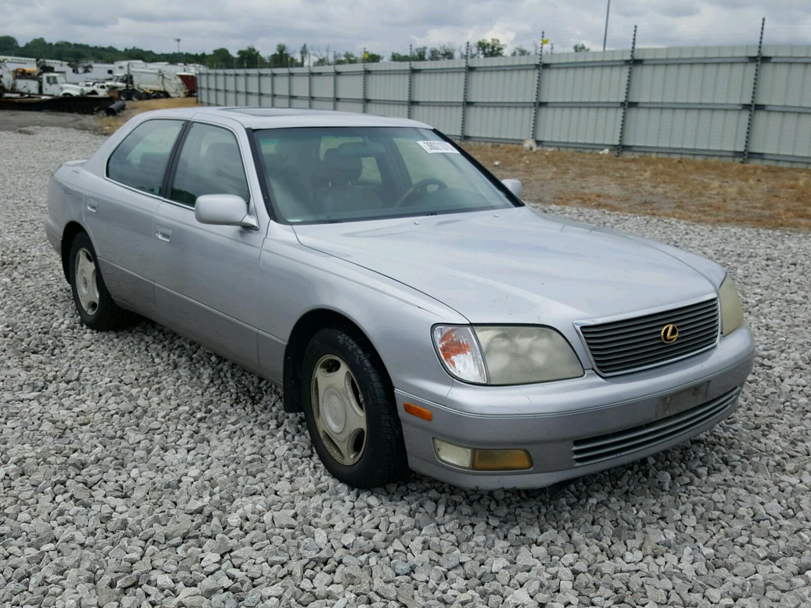 Salvage 1999 Lexus LS 400 for sale