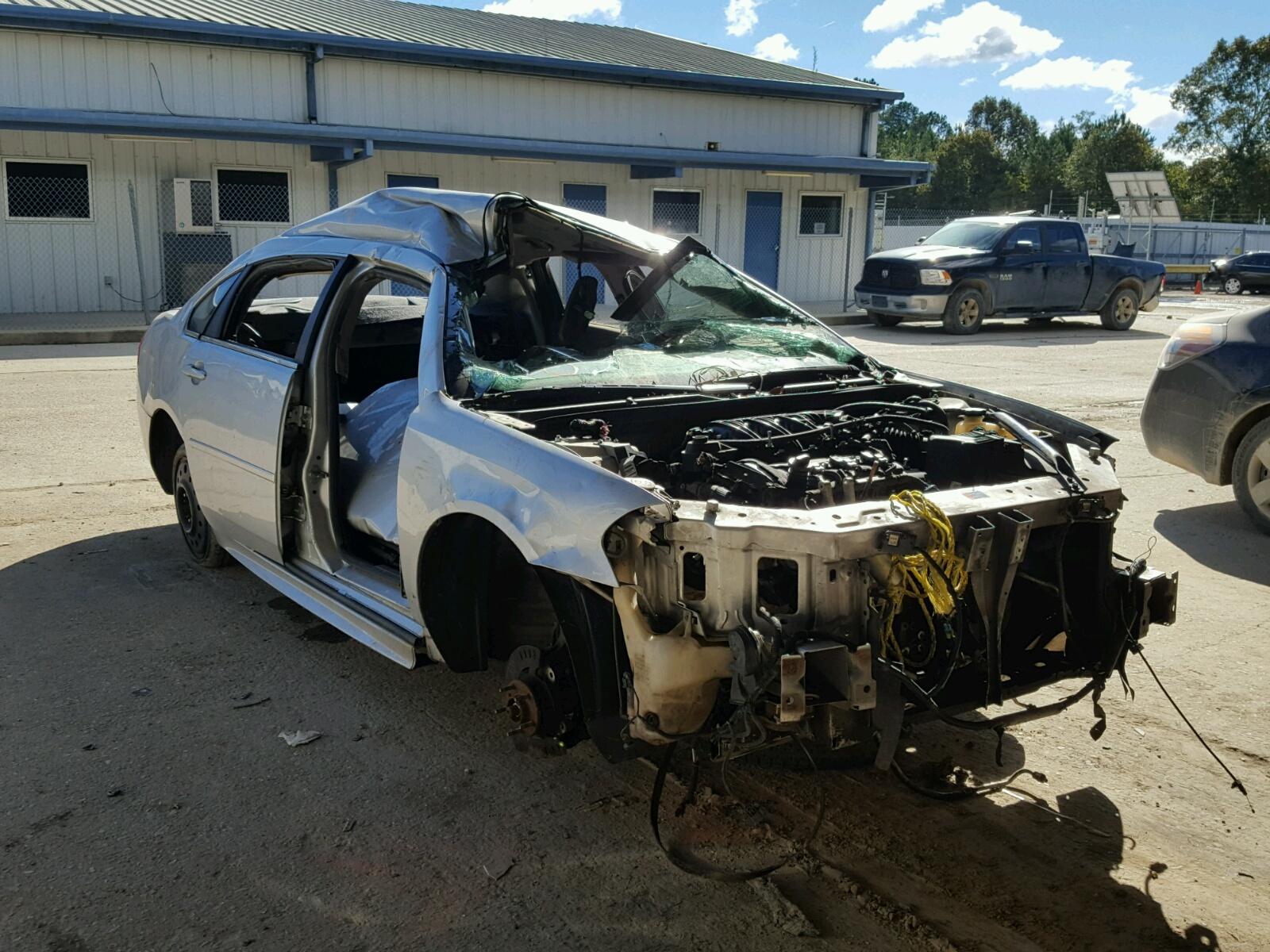 Salvage 2012 Chevrolet IMPALA LS for sale