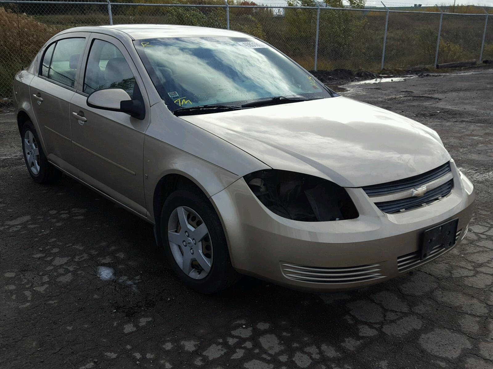 Salvage 2008 Chevrolet COBALT LT for sale