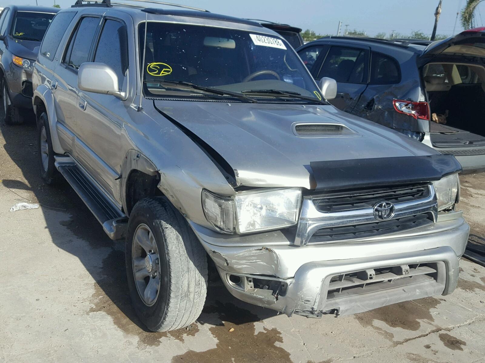 2001 Toyota 4runner LI for sale at Copart West Palm Beach FL Lot