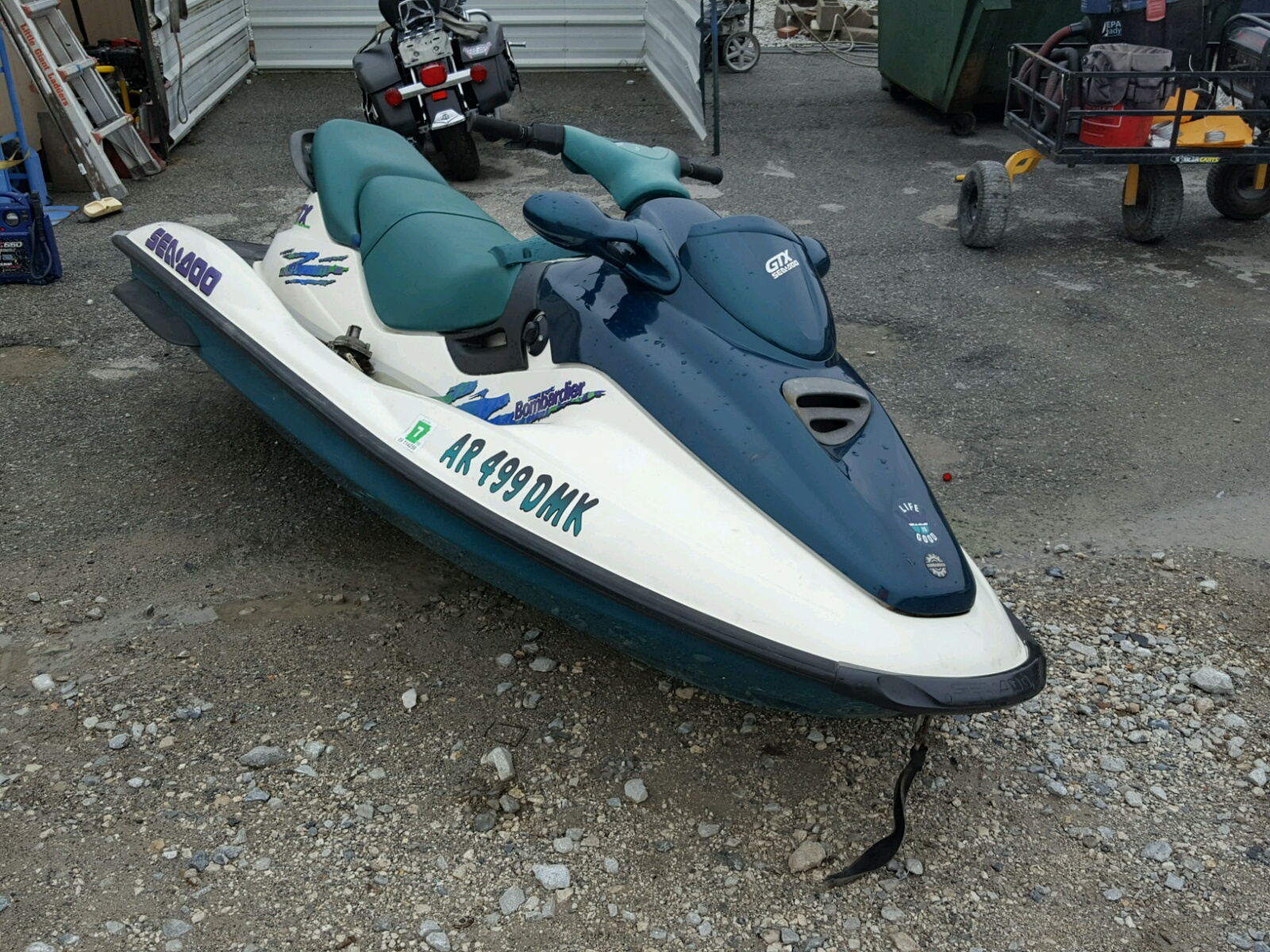 Salvage 1997 Seadoo BOAT for sale