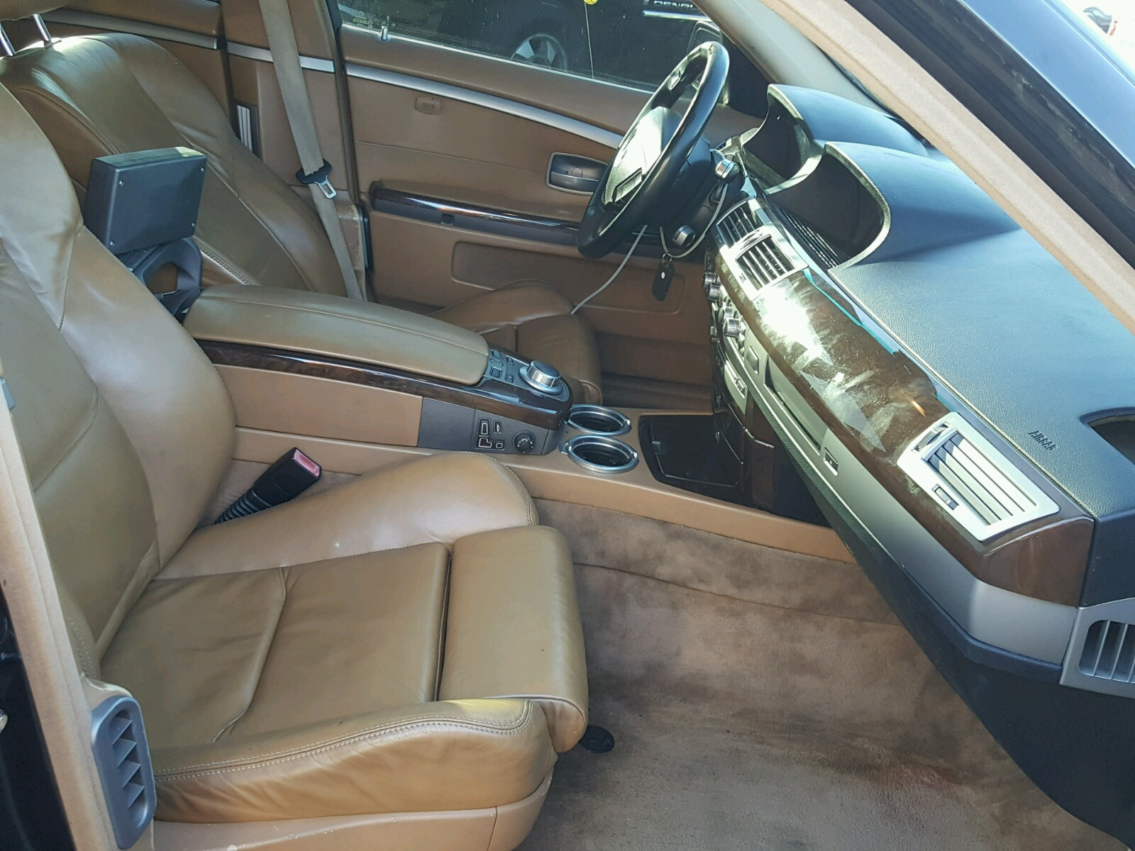 2006 Bmw 750 I 4 8L 8 in CA Los Angeles WBAHL DT for