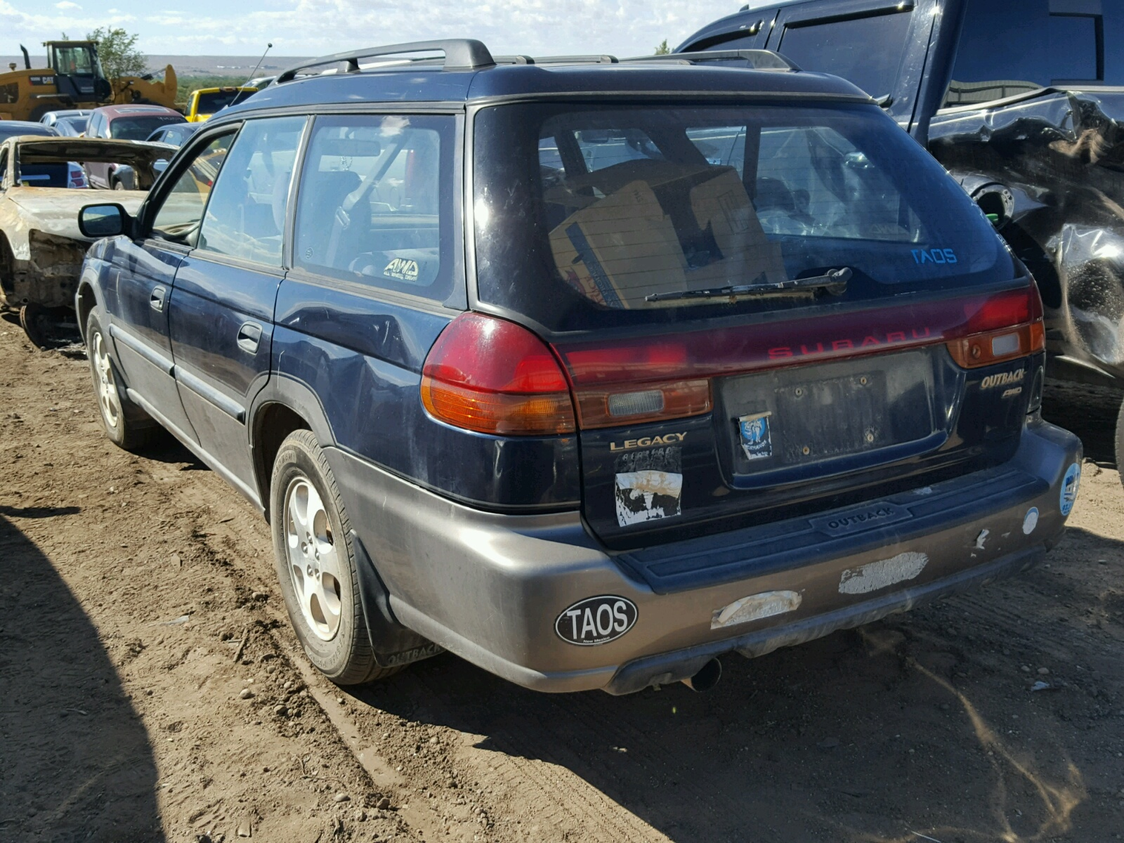 4s3bg6853w7630022 1998 Blue Subaru Legacy 30t On Sale In Nm Outback 25l Angle View