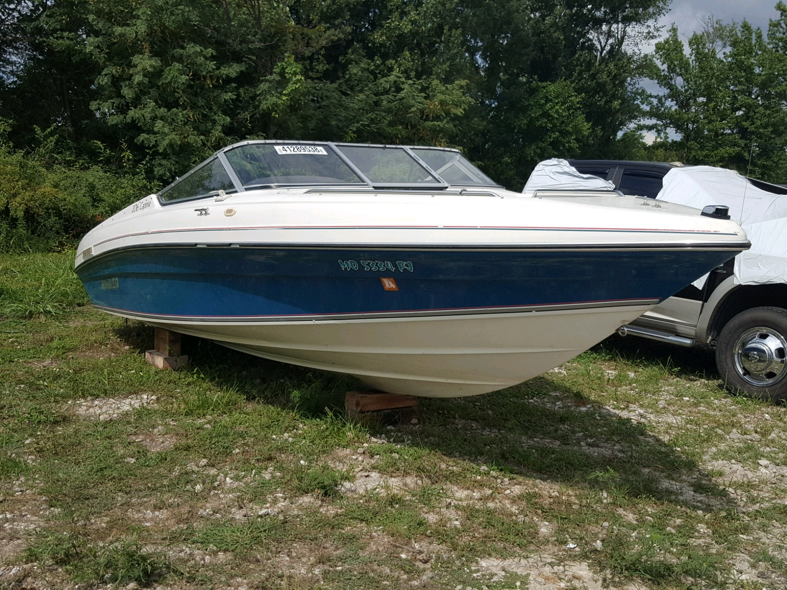Salvage 1992 Rinker MARINE LOT for sale
