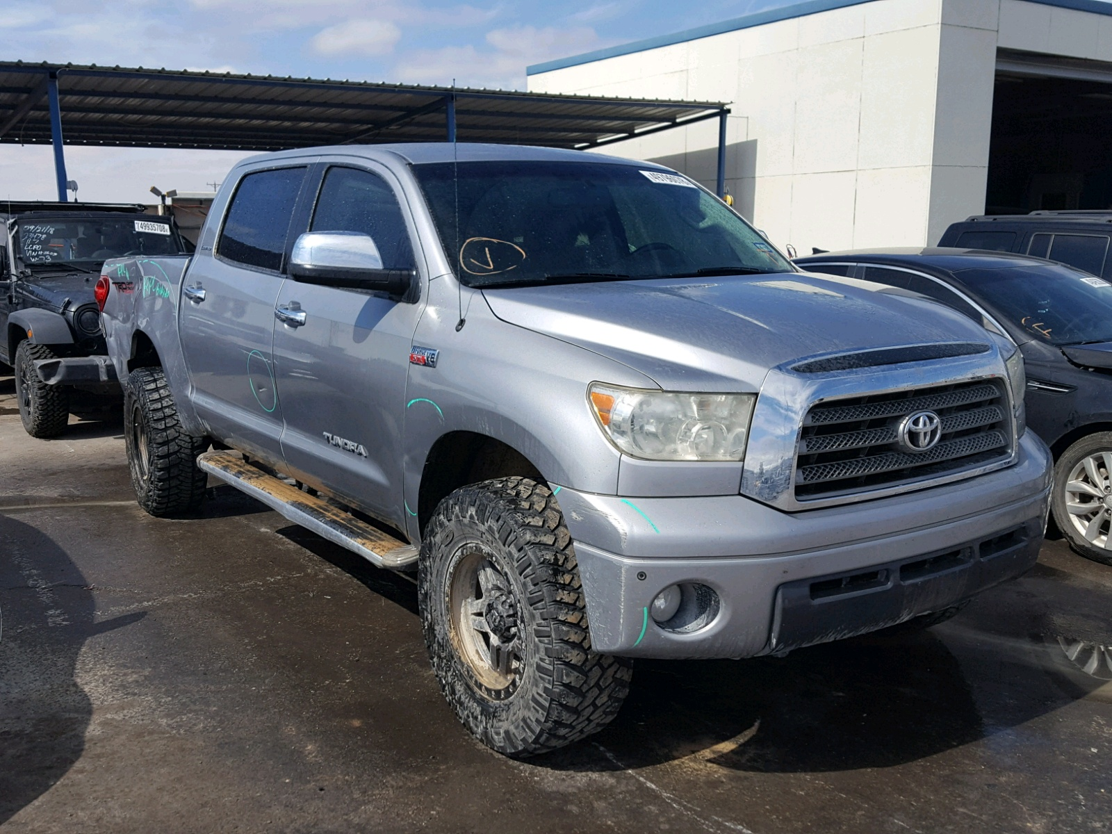 Salvage 2007 Toyota TUNDRA CRE for sale