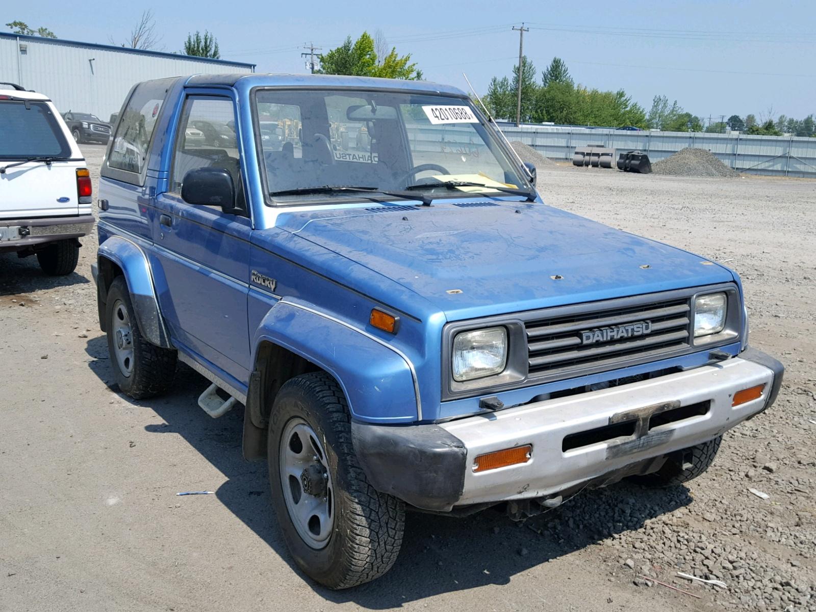 1992 Daihatsu Rocky Sx 1.6L 4 In OR