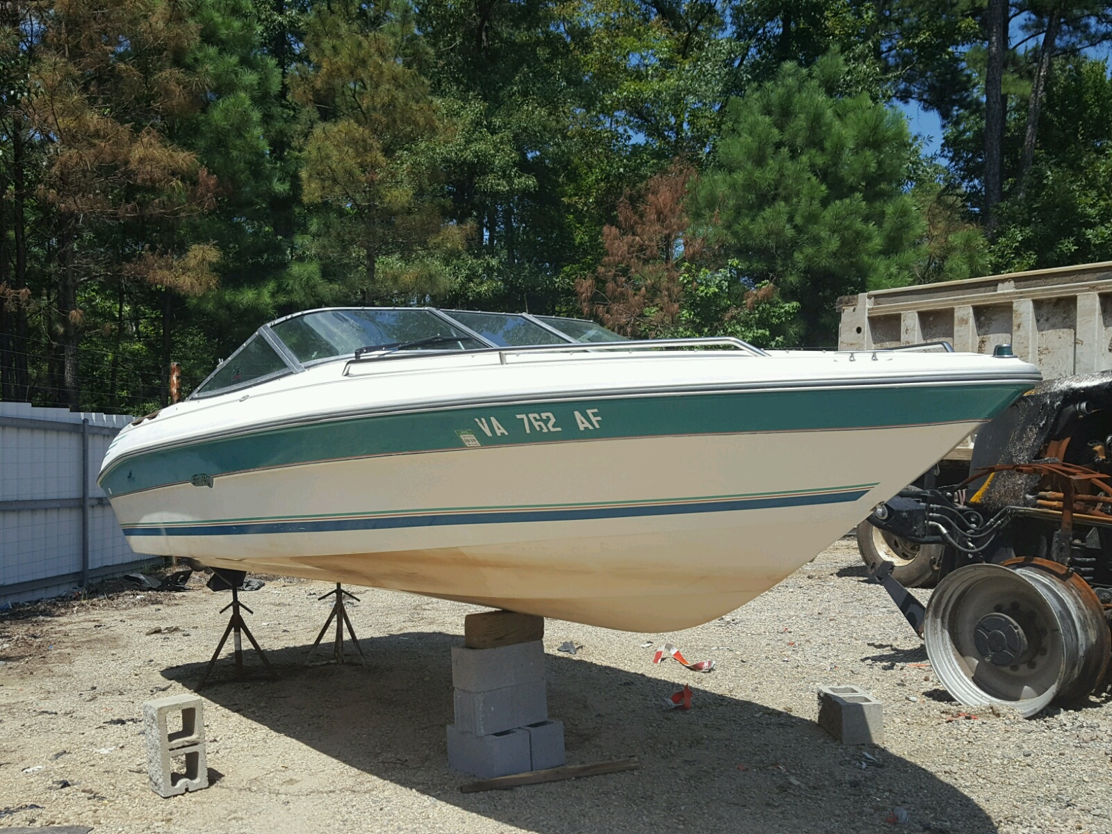 Salvage 1992 Sea Ray 200 BOW RI for sale