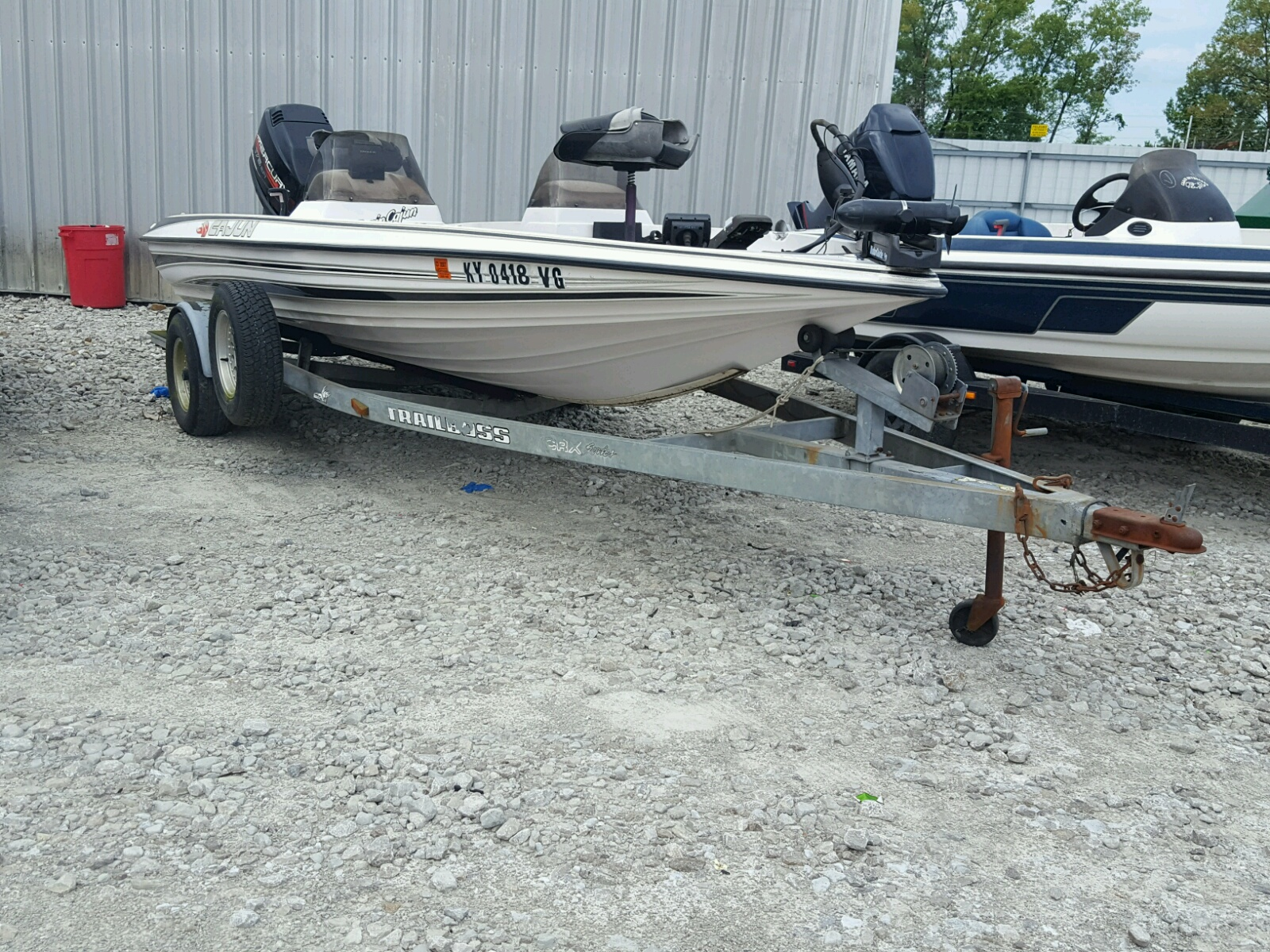 Salvage 1996 Cany BOAT for sale