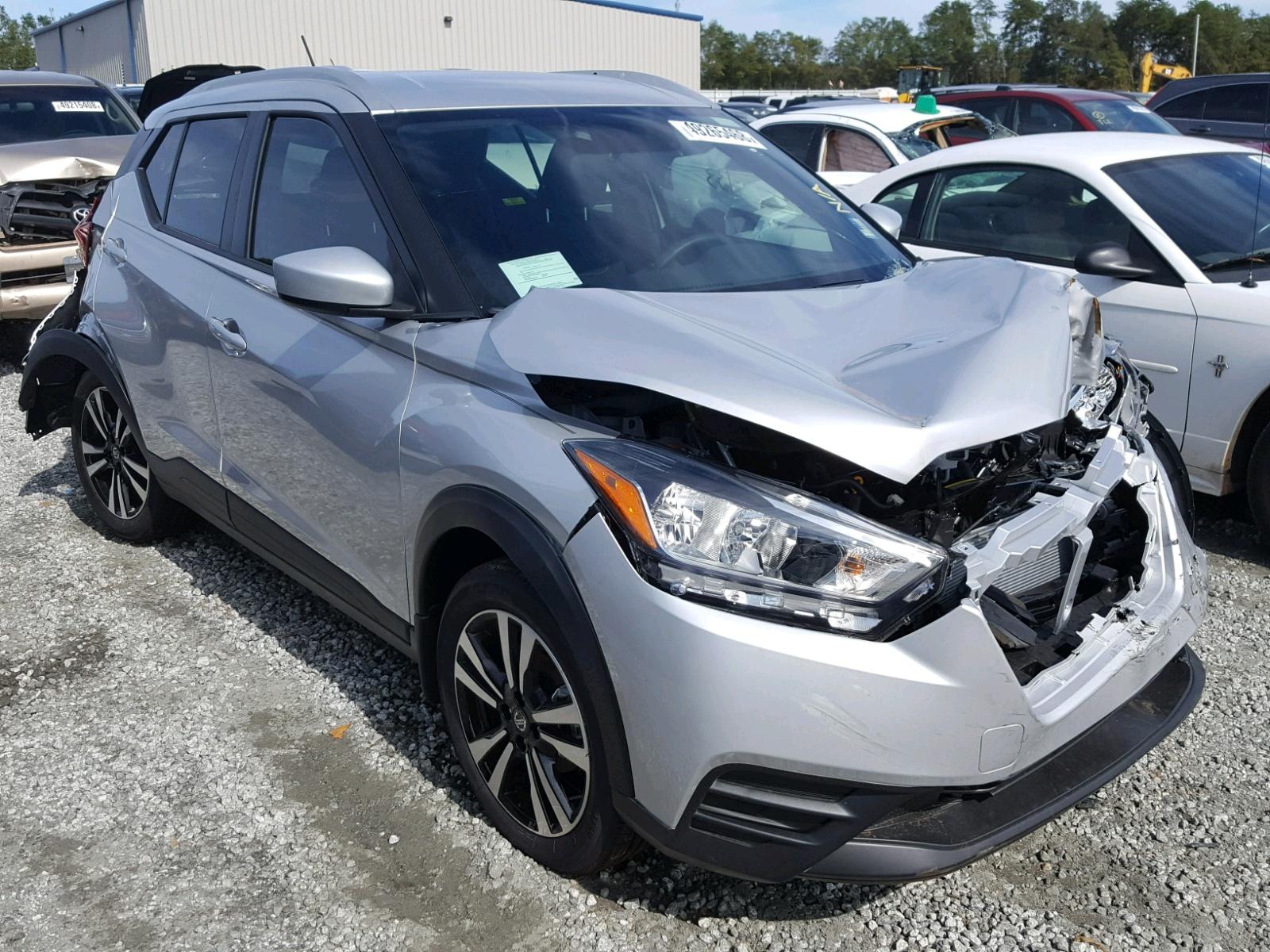 Salvage 2018 Nissan KICKS S for sale