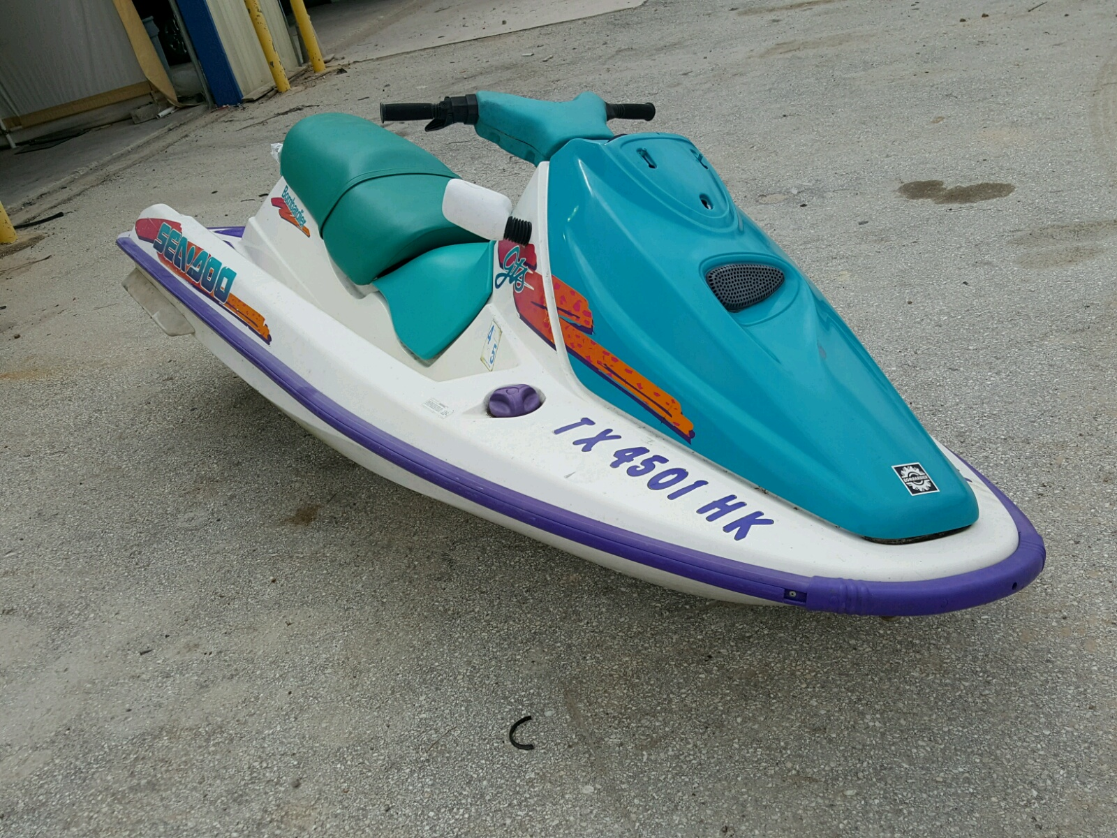 Salvage 1995 Seadoo BOMBARDIER for sale