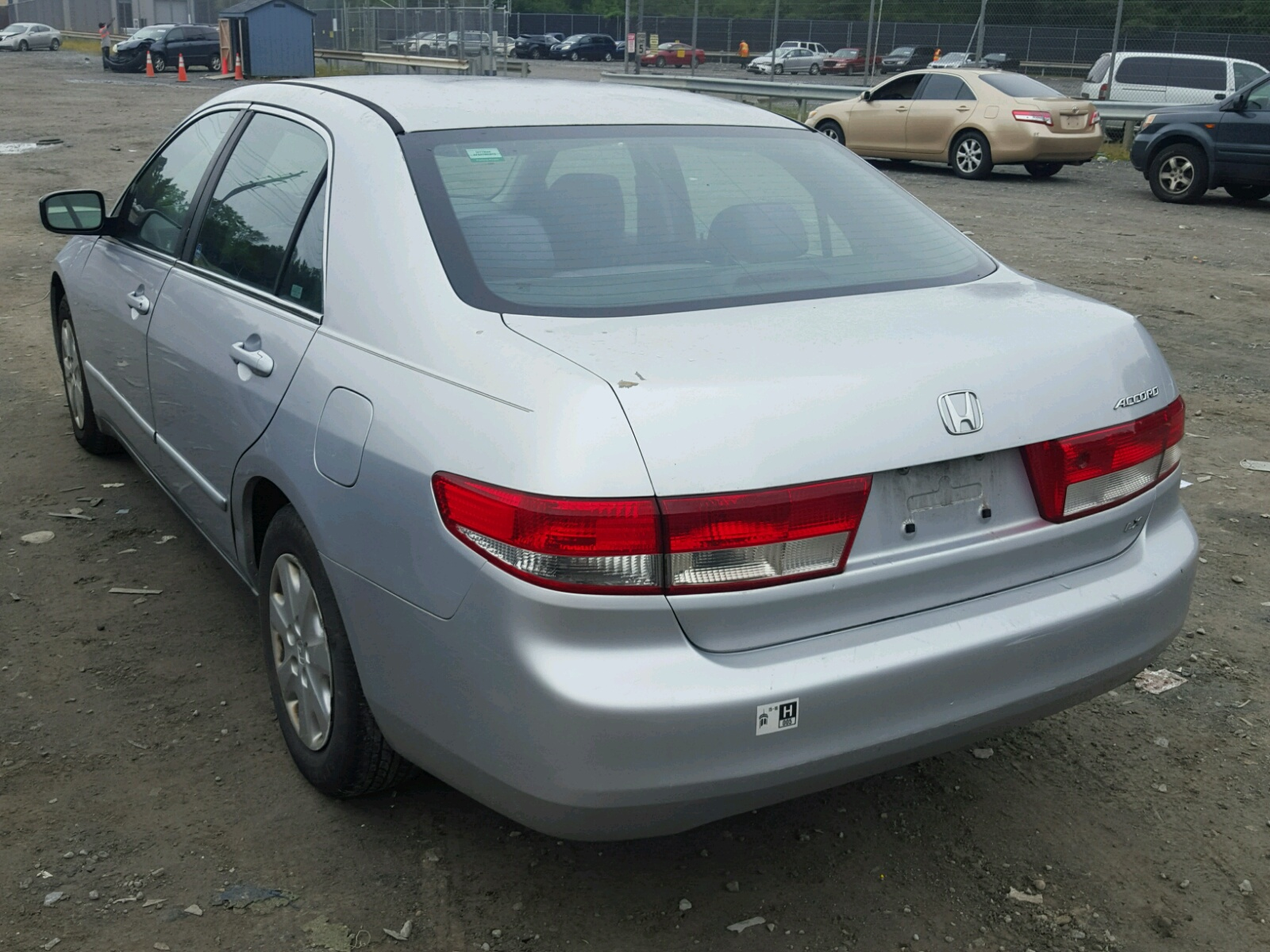 2003 Honda Accord Lx For Sale At Copart Waldorf Md Lot 45758488 Tail Light