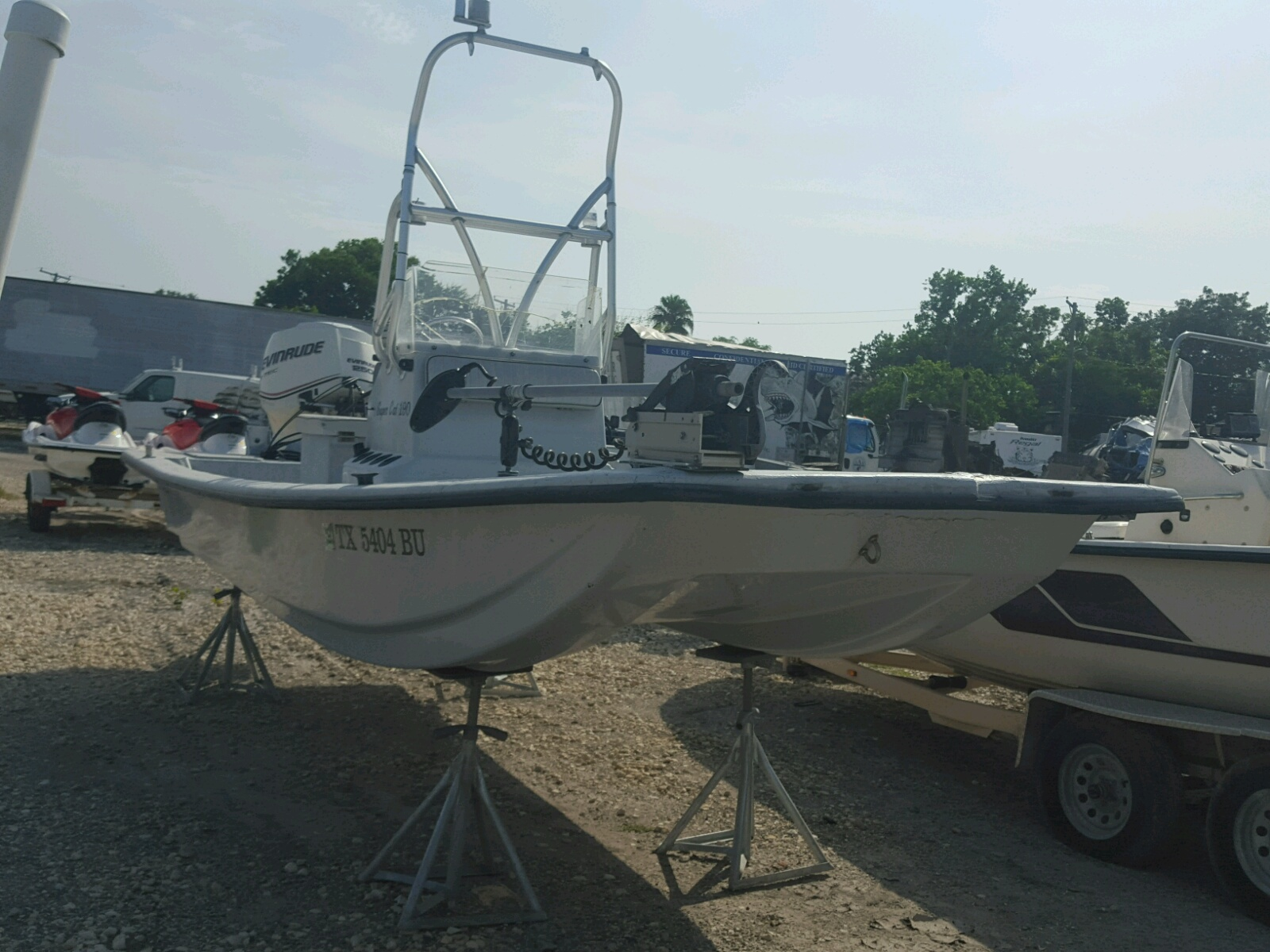 Salvage 2012 Stnr MARINE LOT for sale
