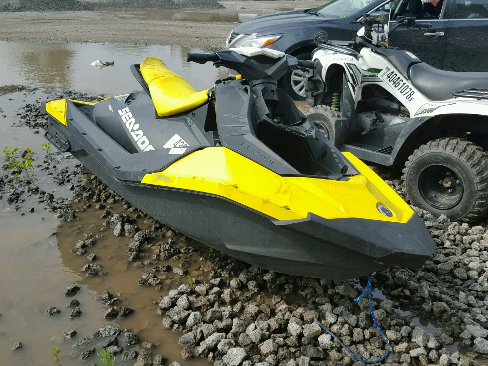 Salvage 2016 Seadoo BOAT for sale