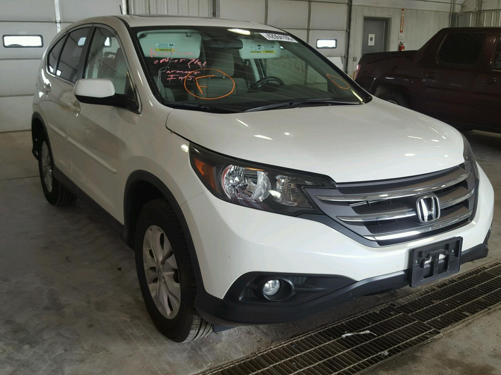 2013 Honda CR V EX for sale at Copart Columbia MO Lot
