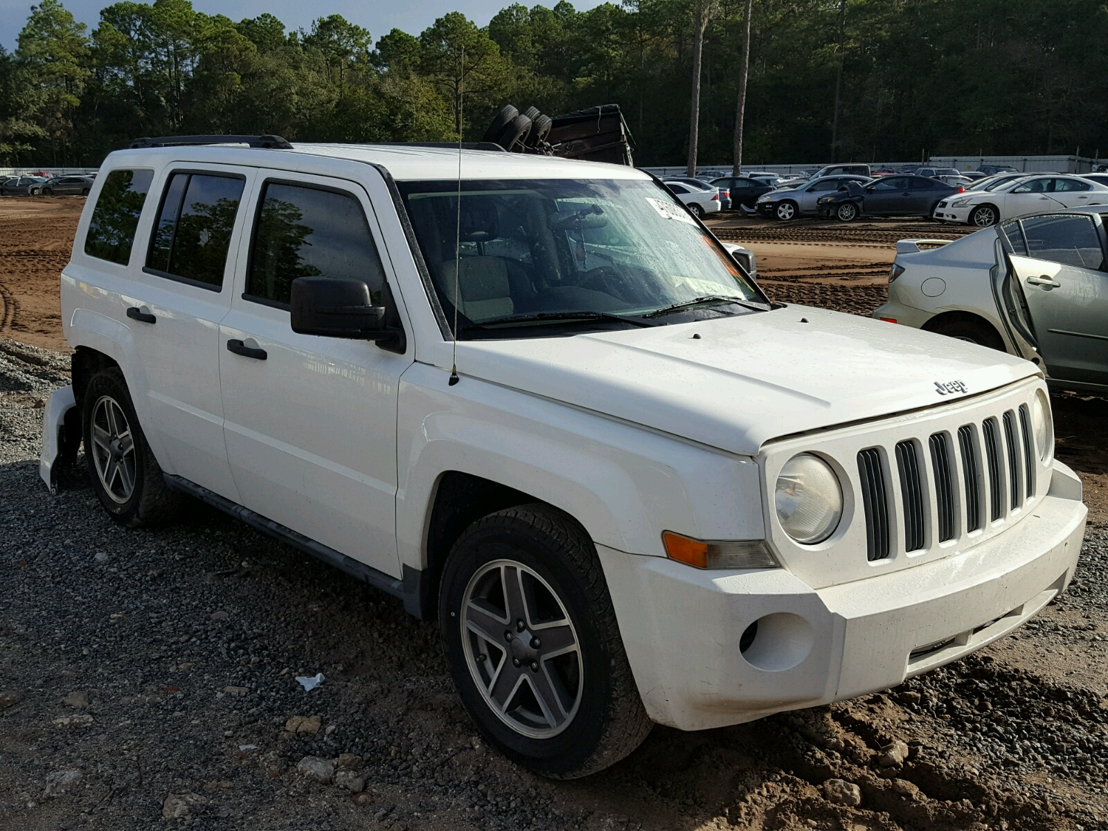 Salvage 2009 Jeep PATRIOT SP for sale