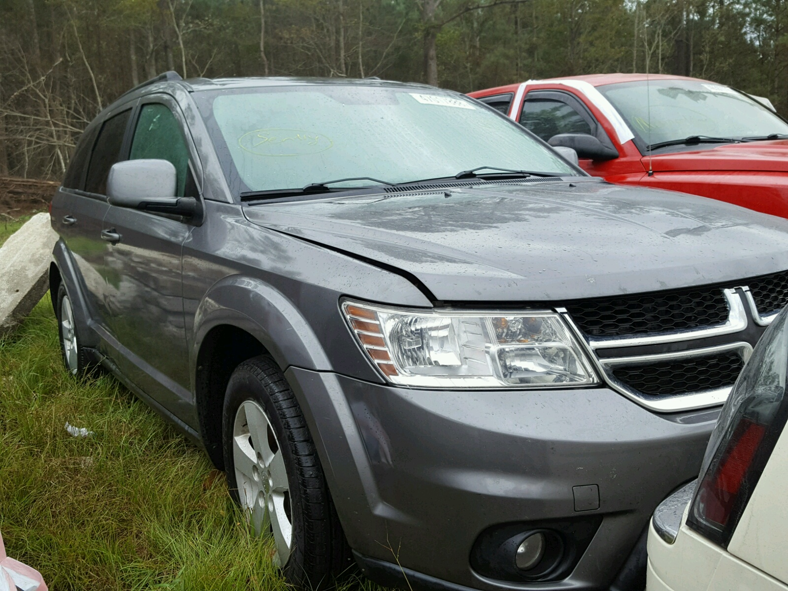 Salvage 2012 Dodge JOURNEY SX for sale