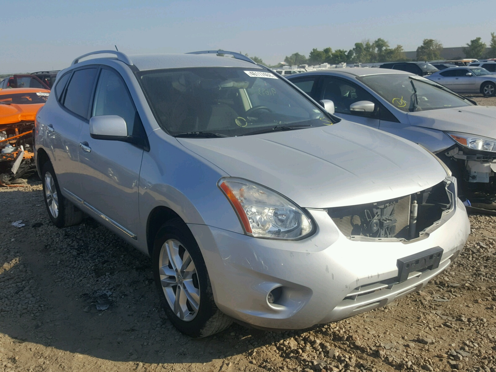 Salvage 2013 Nissan ROGUE S for sale
