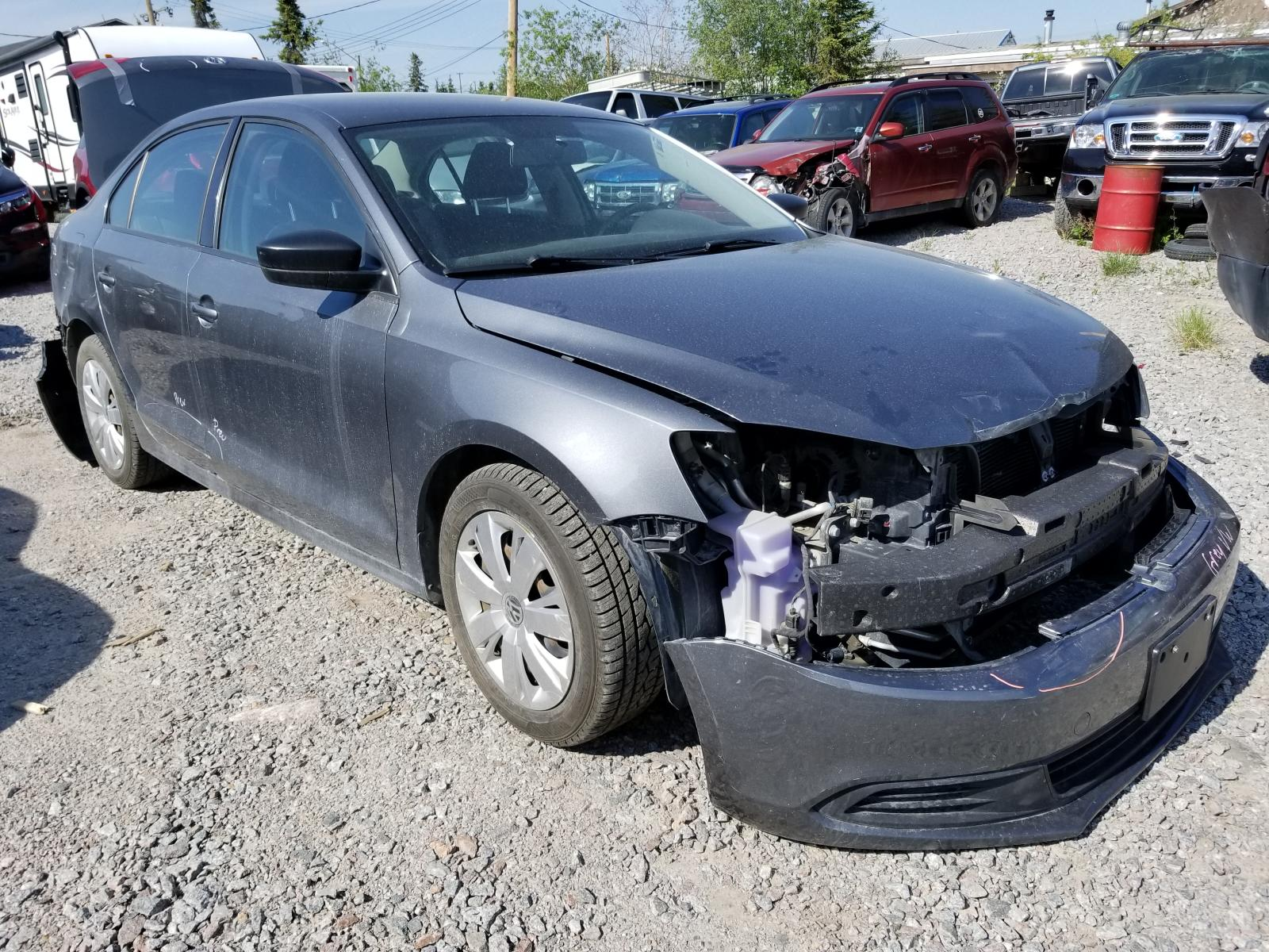 Salvage 2011 Volkswagen JETTA BASE for sale