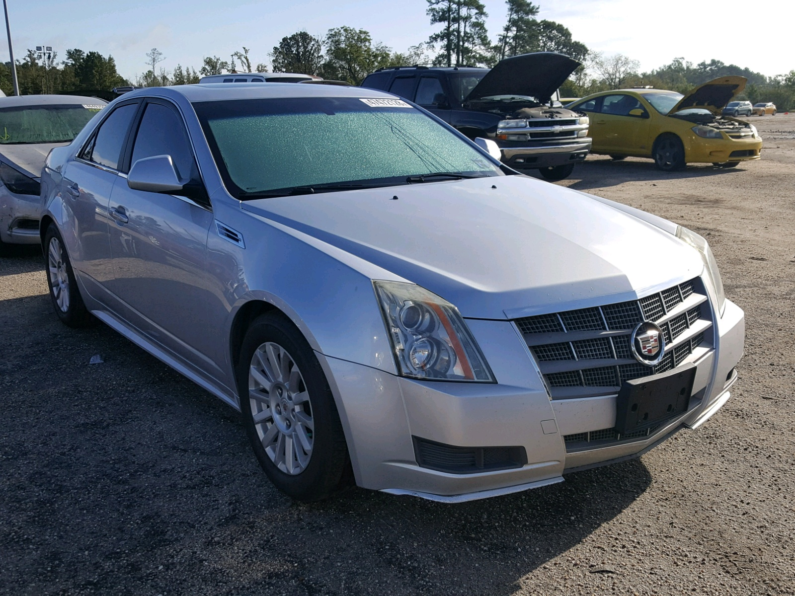 Salvage 2010 Cadillac CTS LUXURY for sale