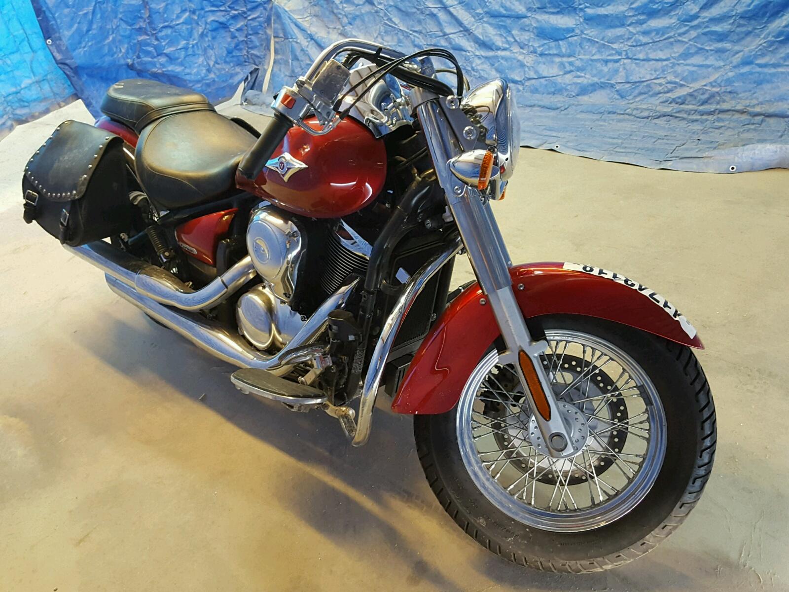 Salvage 2006 Kawasaki VN900 B for sale