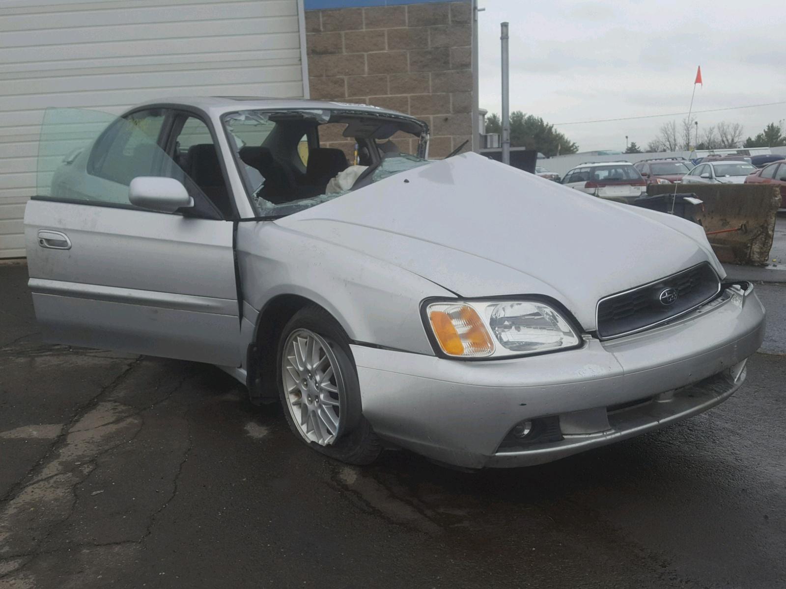 Salvage 2004 Subaru LEGACY L S for sale
