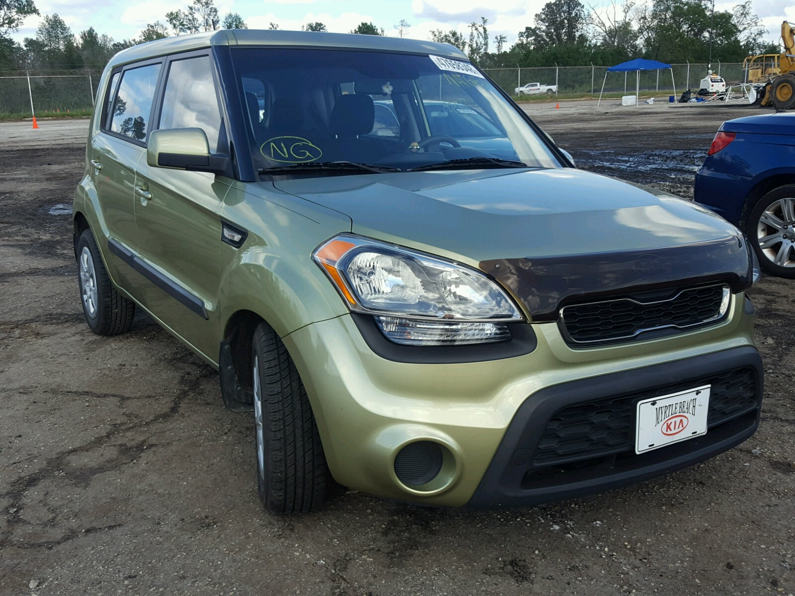Salvage 2013 KIA SOUL for sale