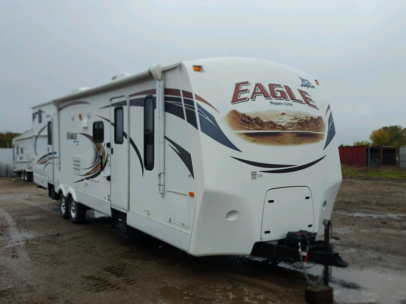 Salvage 2012 Jayco TRAVEL TRAILER for sale