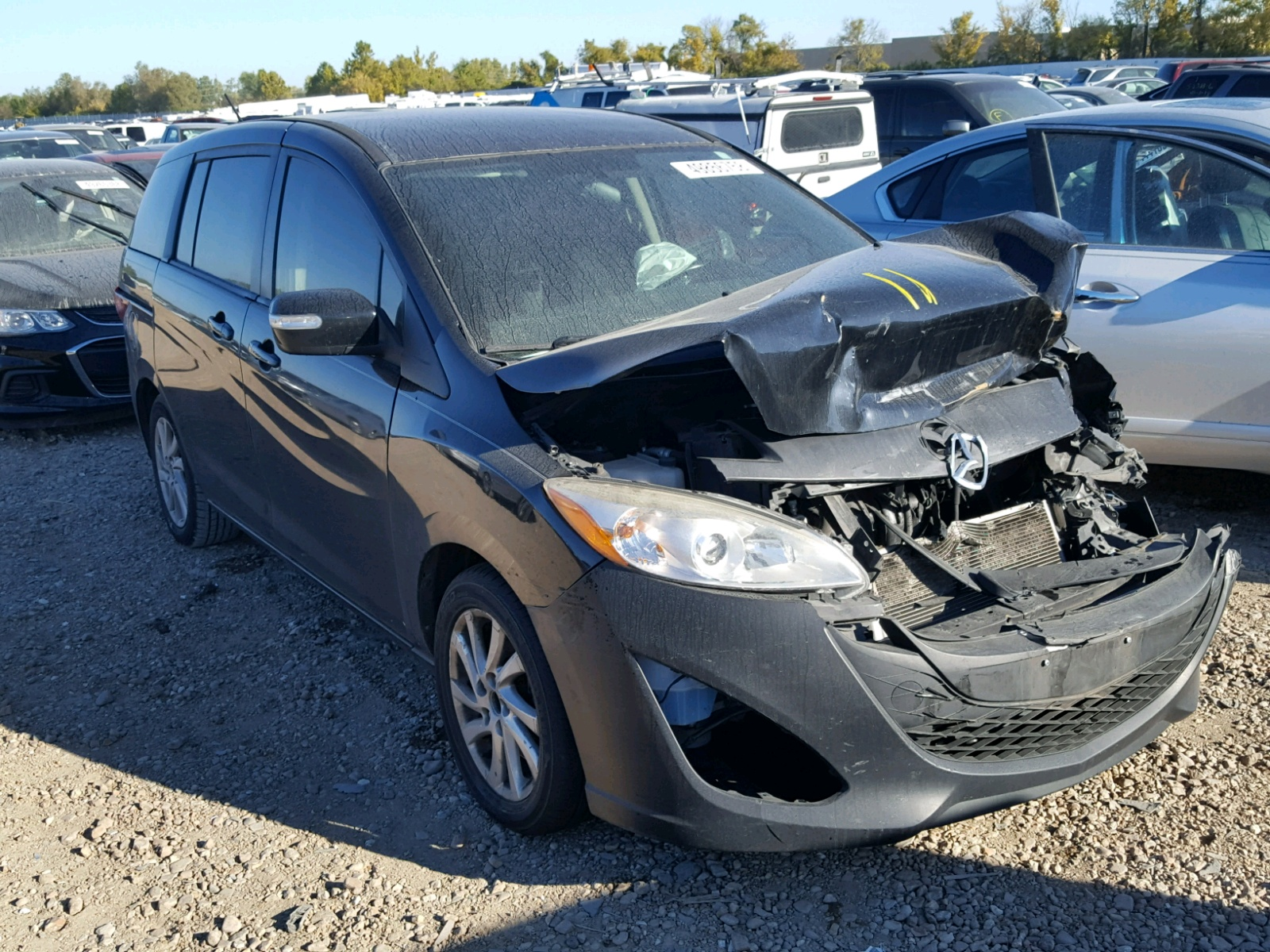 Salvage 2013 Mazda 5 for sale