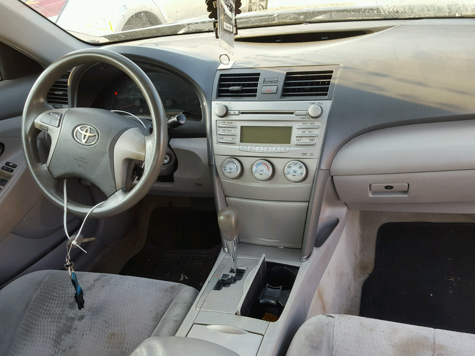 4t1bf3ek2bu204566 2011 Gray Toyota Camry Base On Sale In Nc Interior 25l Engine View
