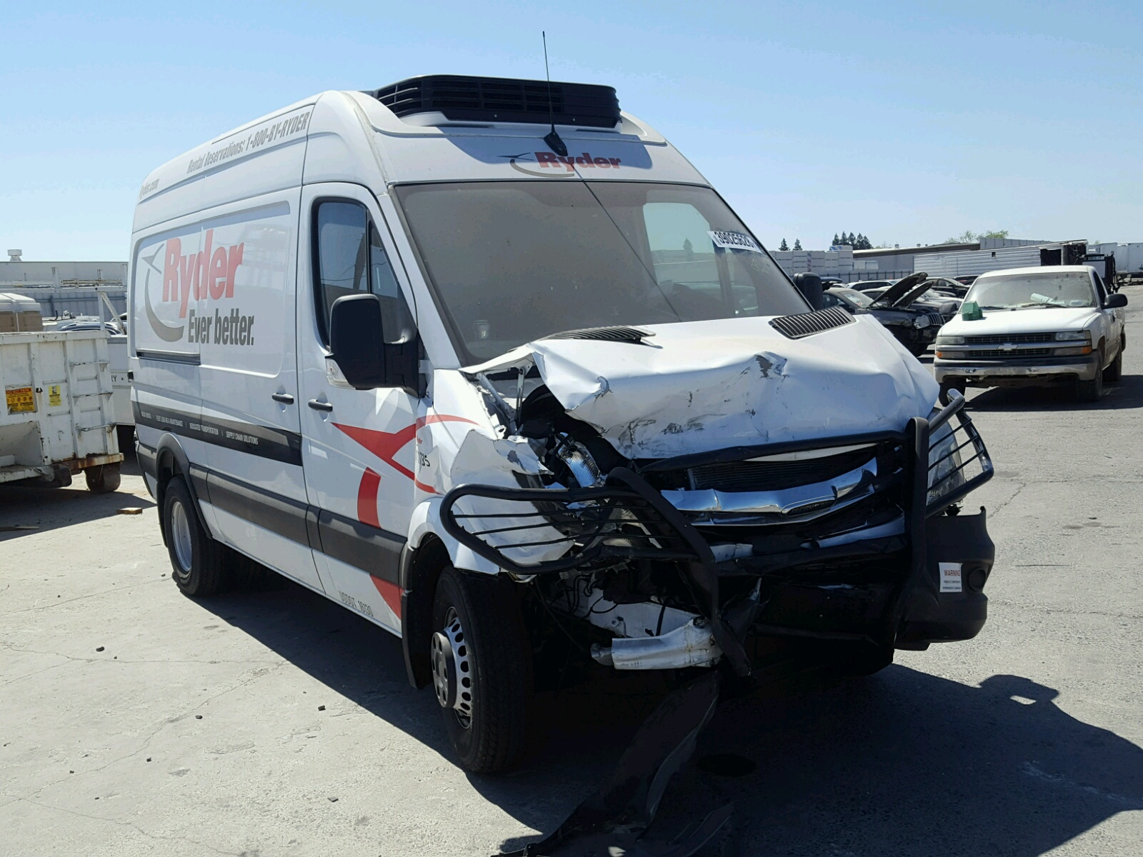 click here to view 2017 FREIGHTLINER SPRINTER 3 at IBIDSAFELY