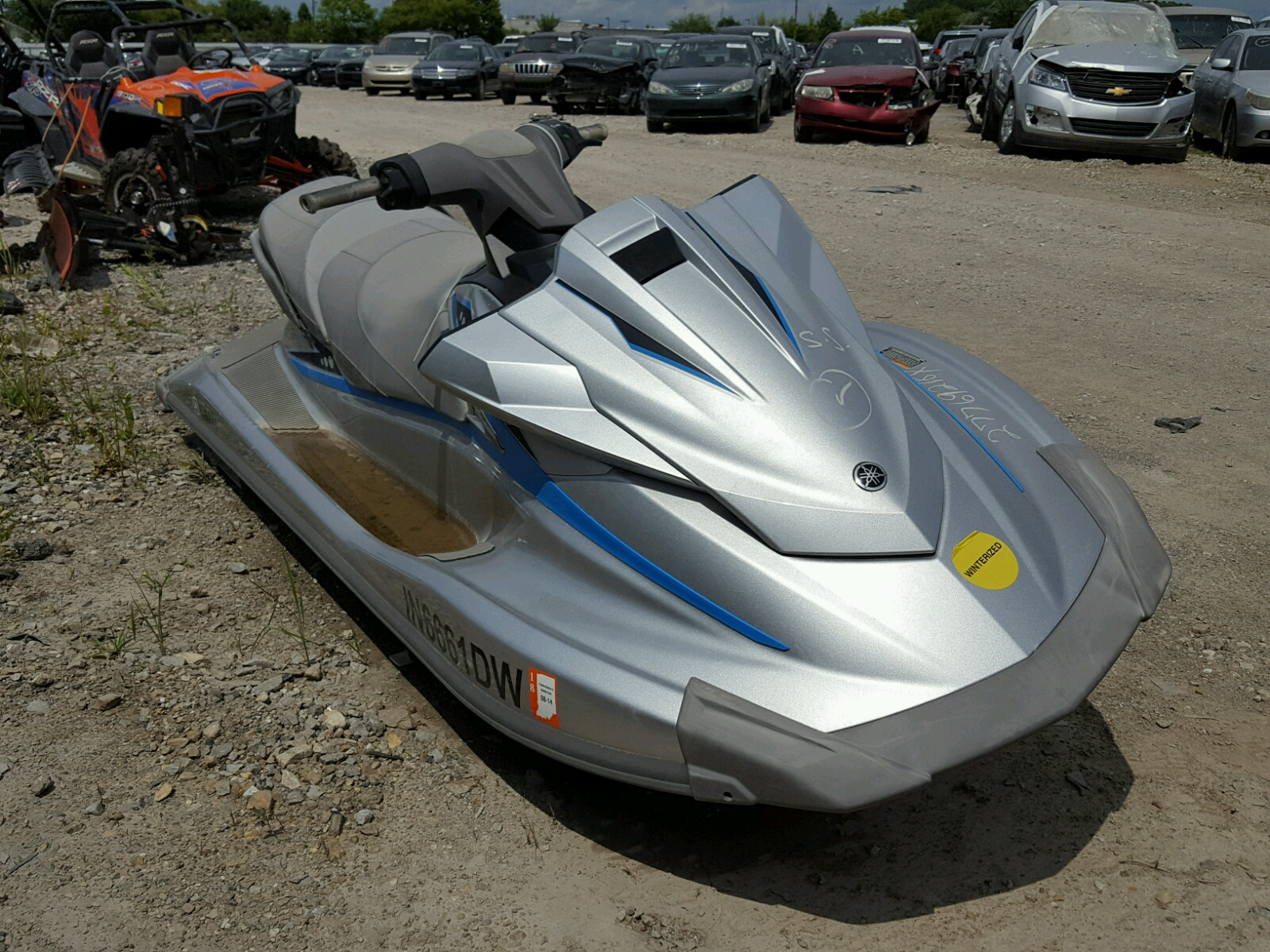 Salvage 2015 Yamaha VXDELUXE for sale