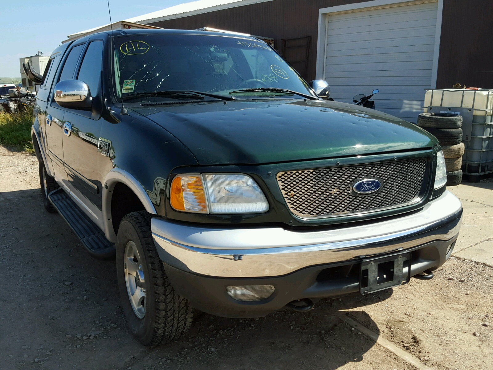 2002 Ford F150 Super for sale at Copart Billings MT Lot