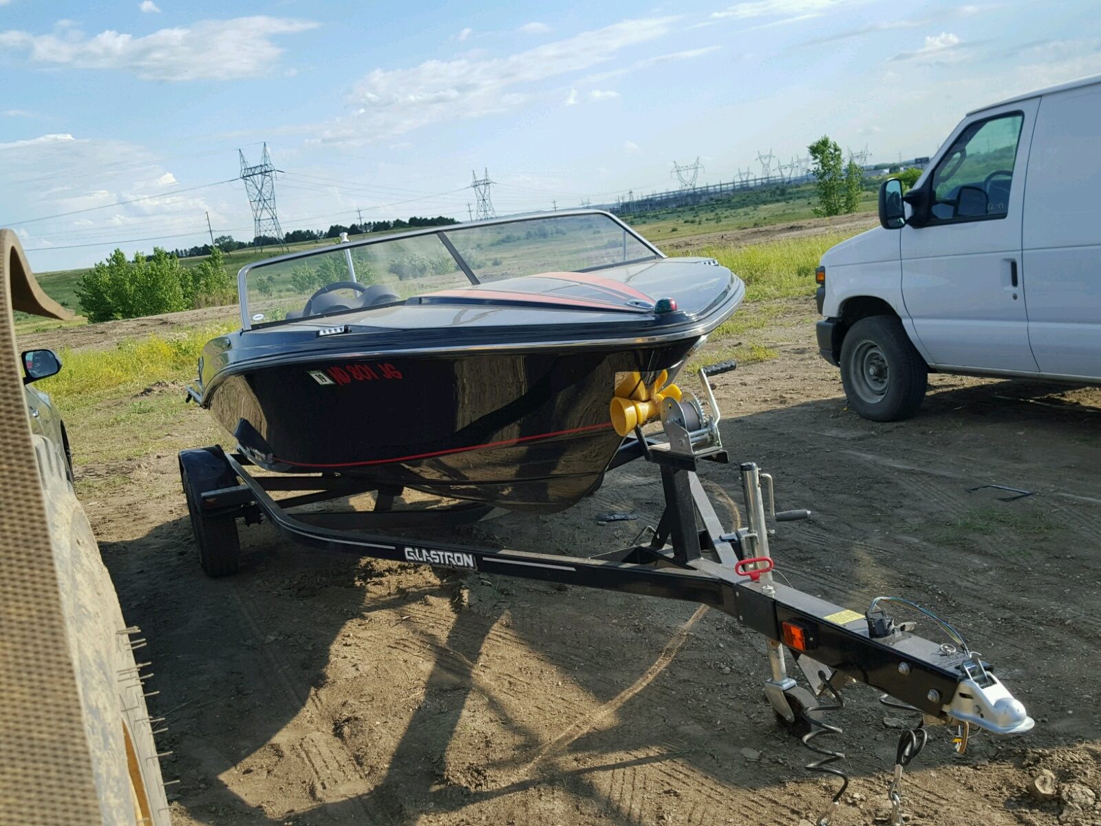 Salvage 2012 Glastron BOAT for sale