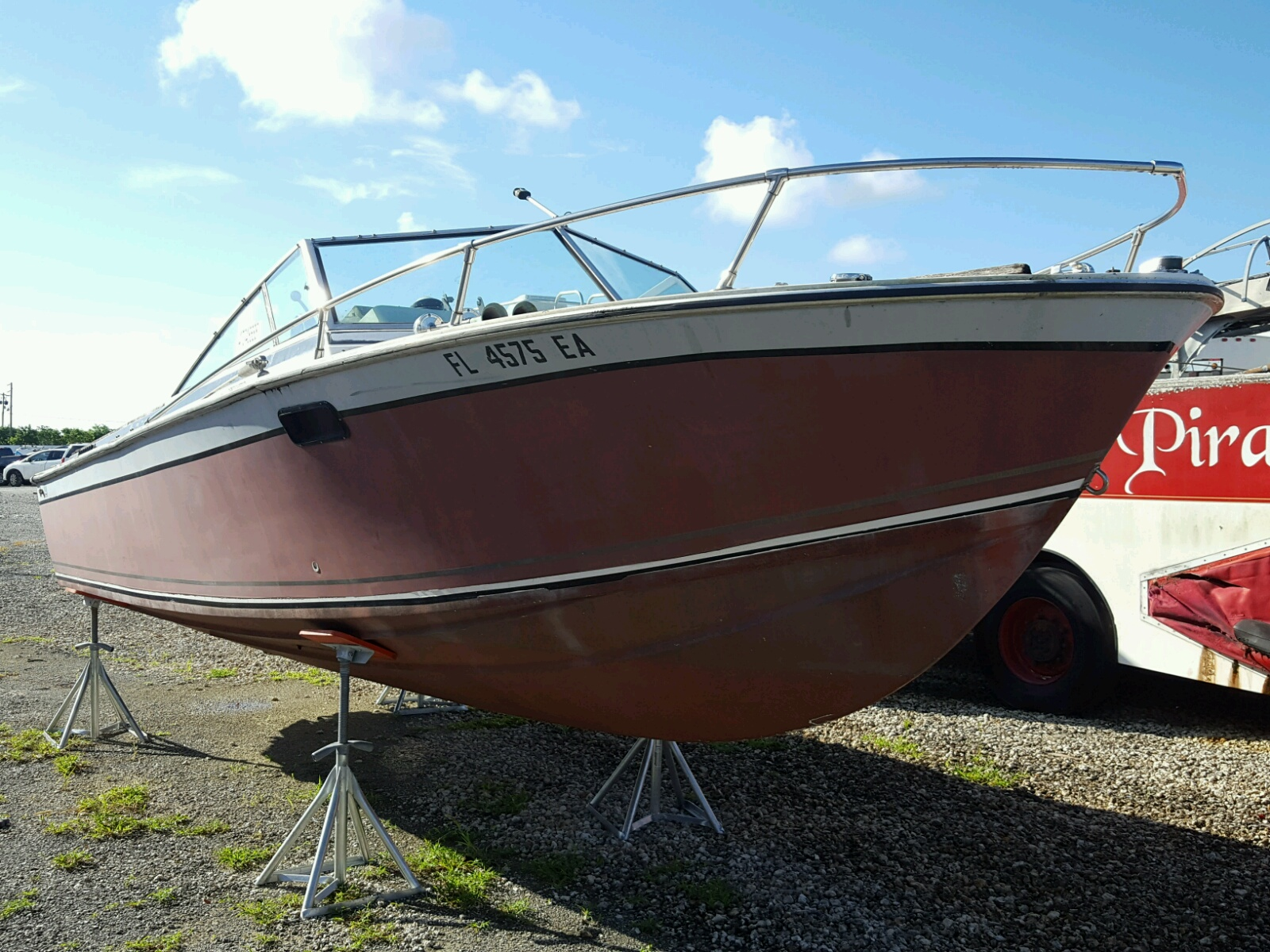 Salvage 1981 Boat FORMULA for sale