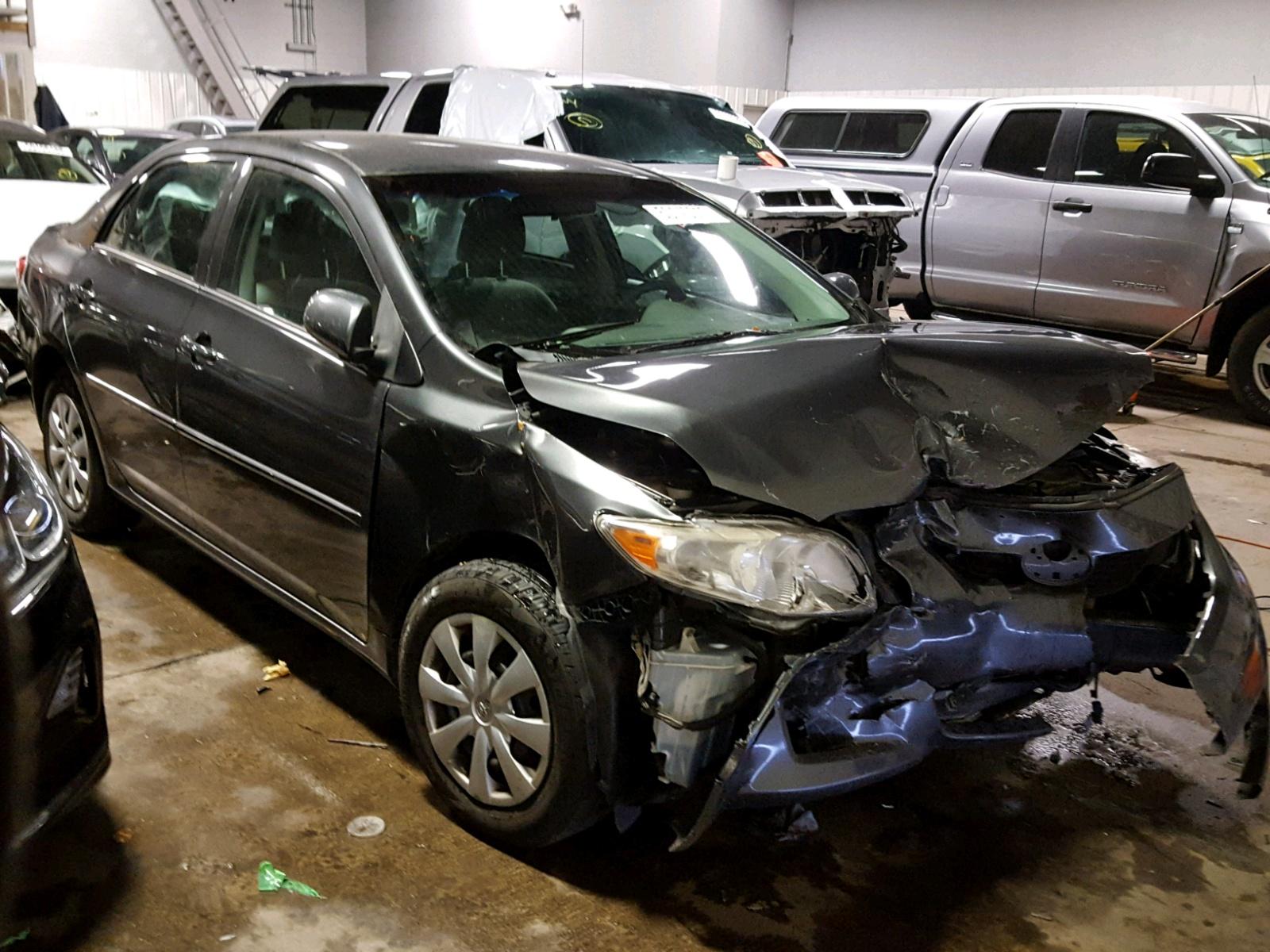 Salvage 2010 Toyota COROLLA BA for sale