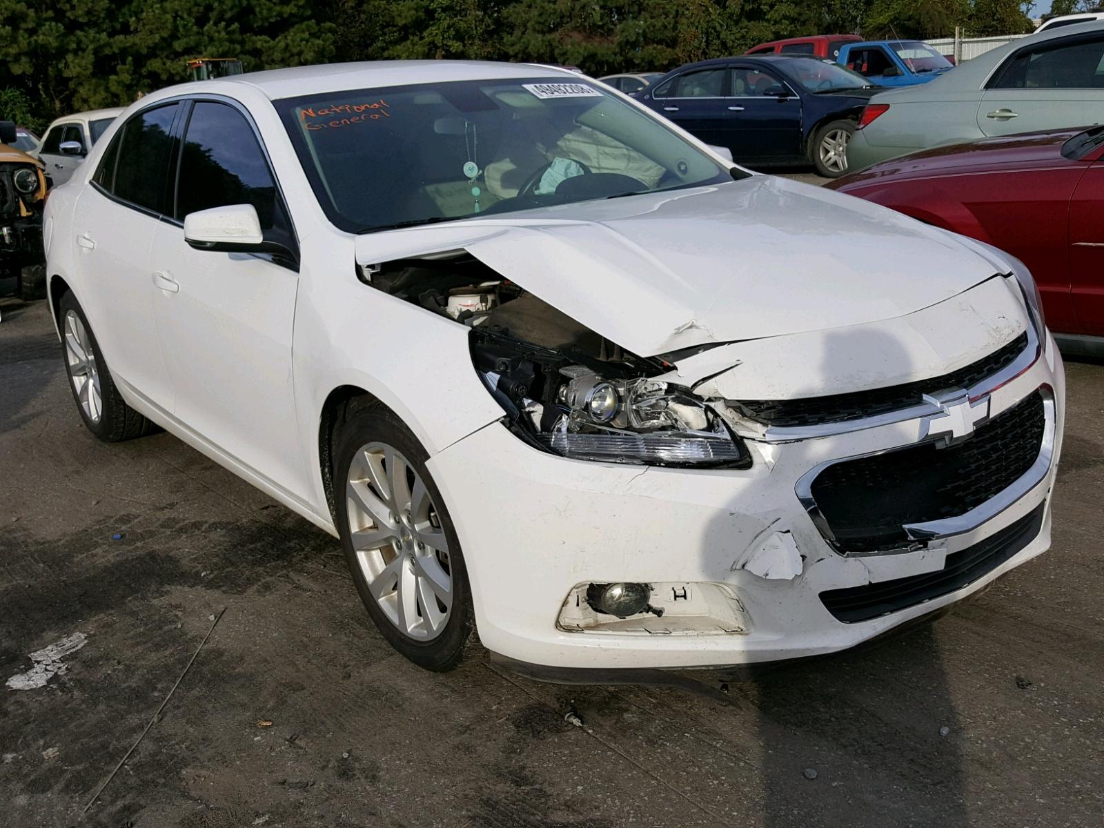 Salvage 2014 Chevrolet MALIBU 2LT for sale