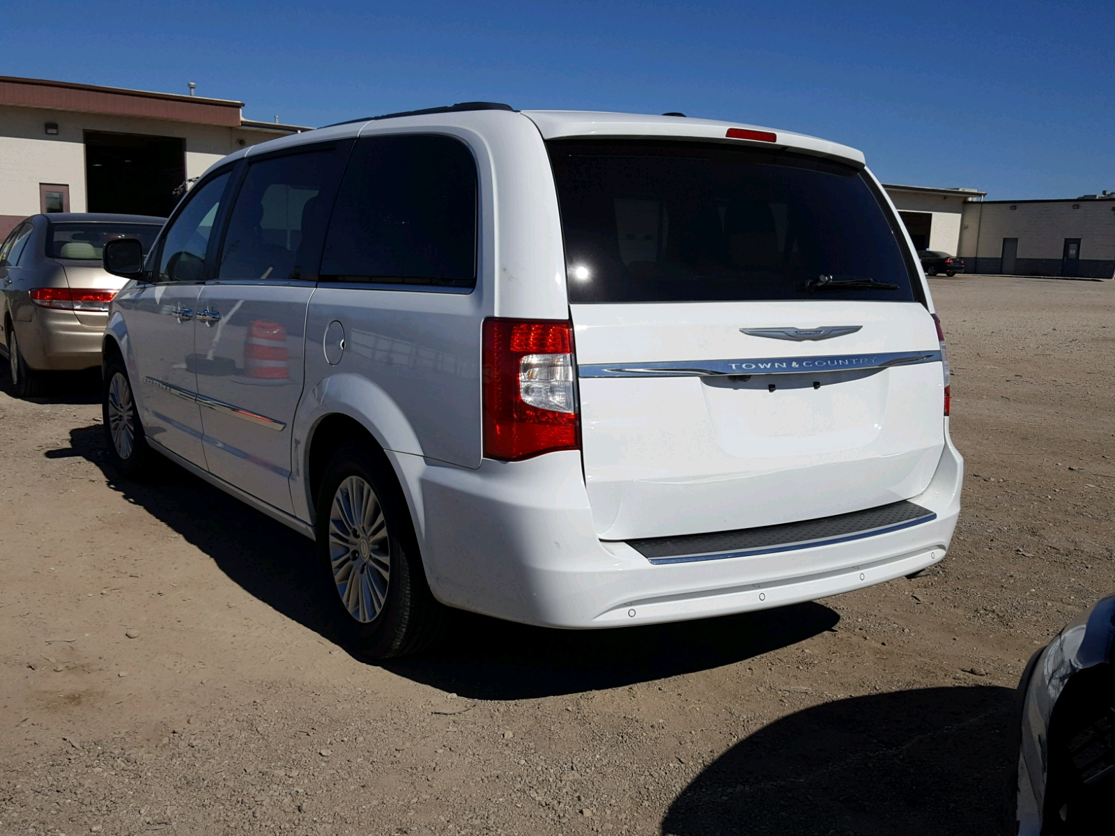 2015 Chrysler Town Country For Sale At Copart Indianapolis In Lot 49213618