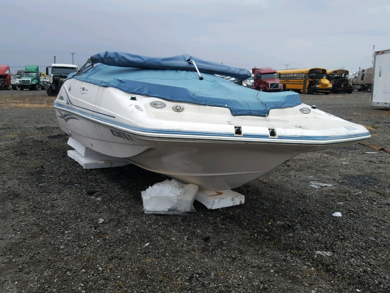 2006 Hurricane 228r For Sale At Copart Blaine Mn Lot