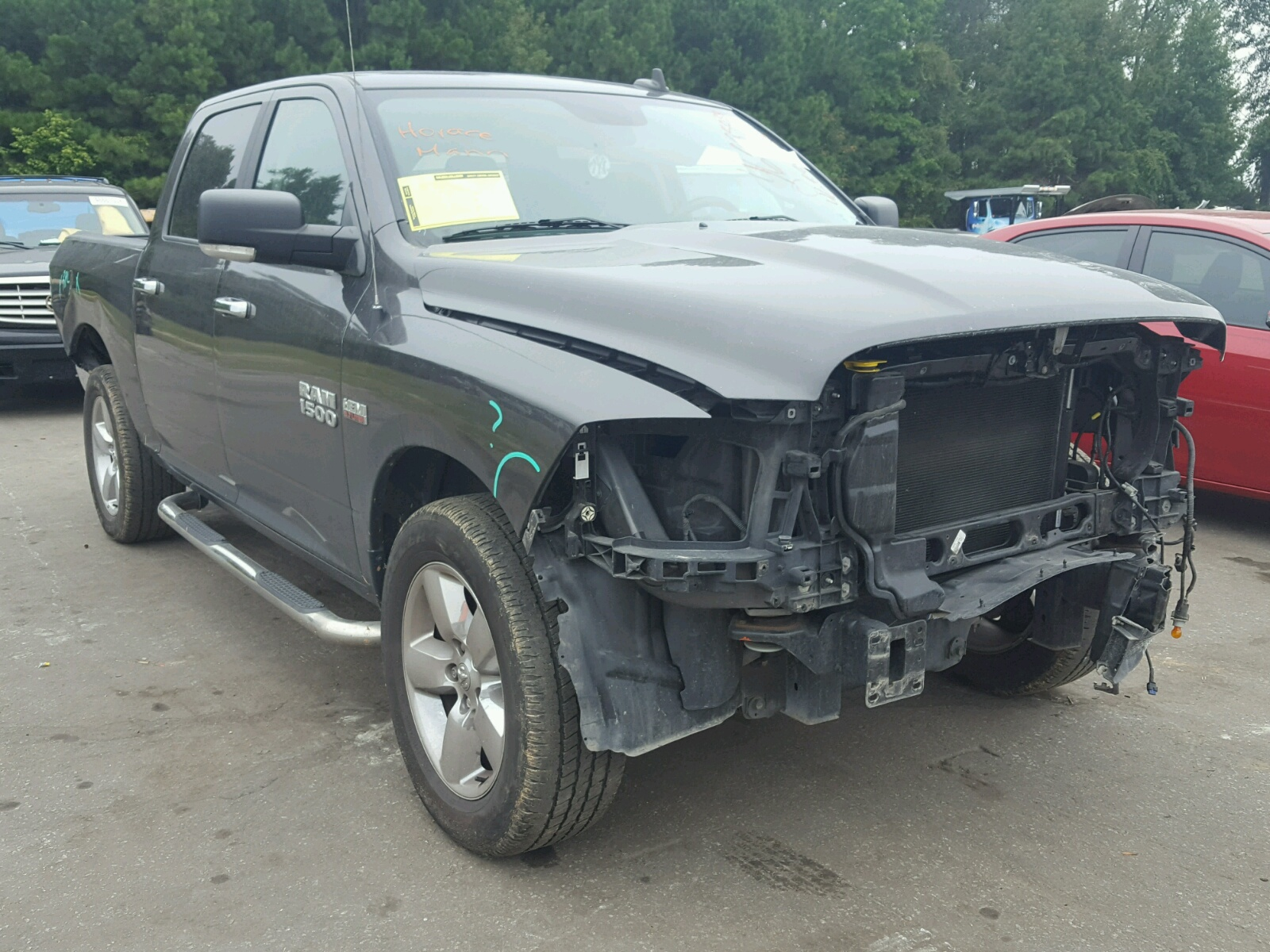 Salvage 2016 Dodge RAM 1500 SLT for sale