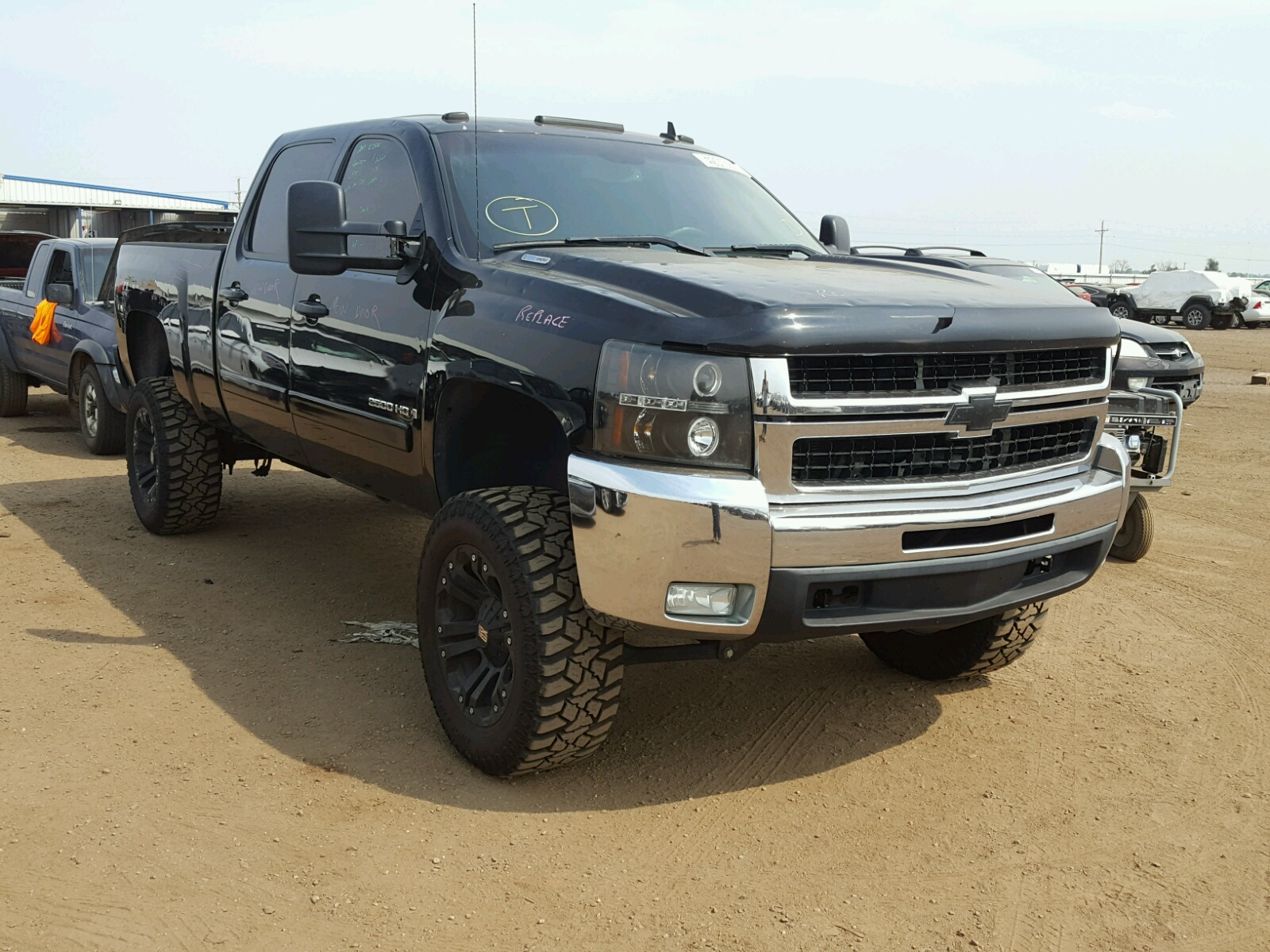 Salvage 2007 Chevrolet SILVERADO for sale