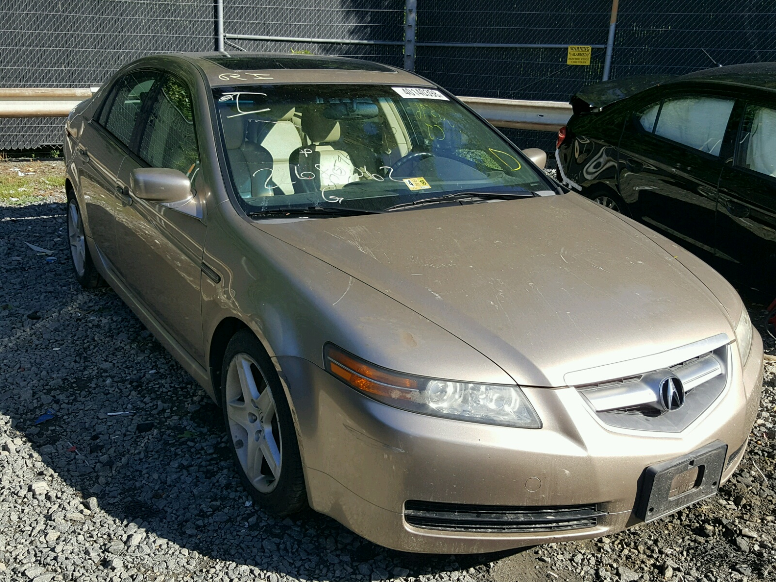 Acura TL For Sale At Copart Waldorf MD Lot - Acura tl for sale in md