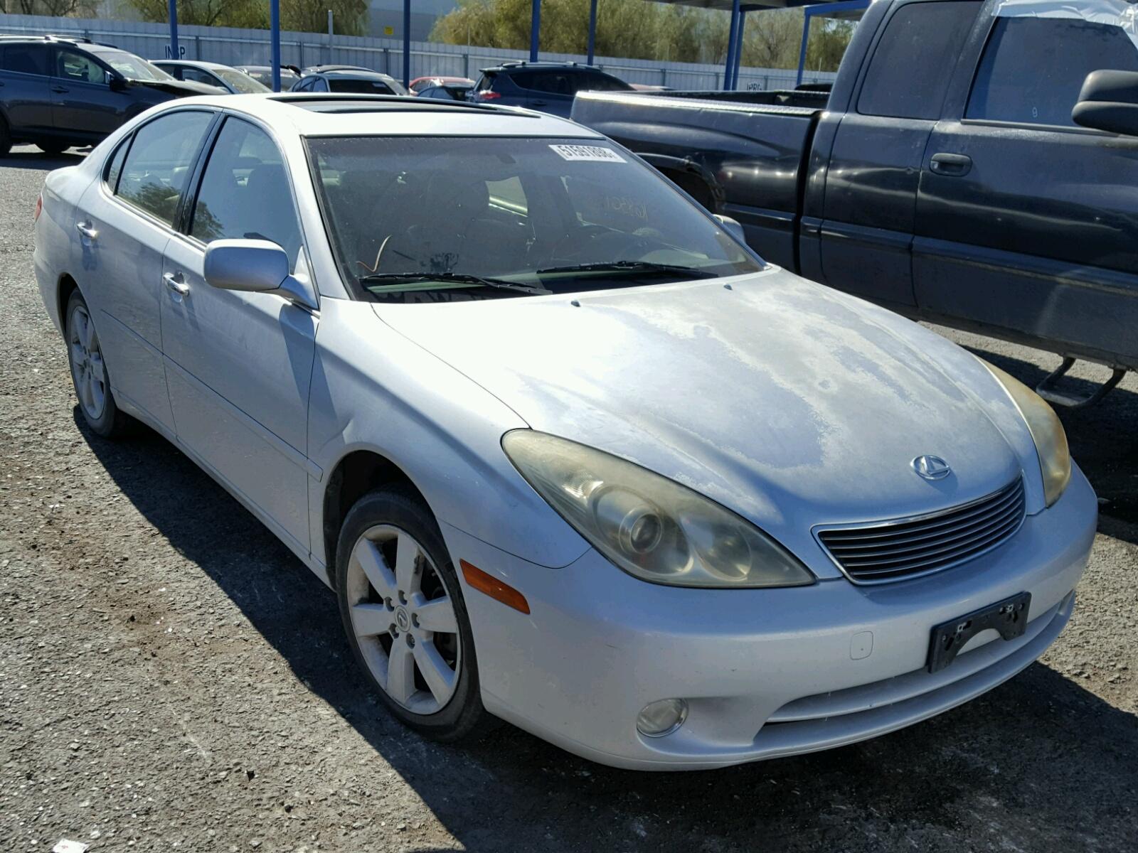 2005 Lexus Es 330 33l 6 In Nv Las Vegas Jthba30g255076283 For Blue Colors Left View