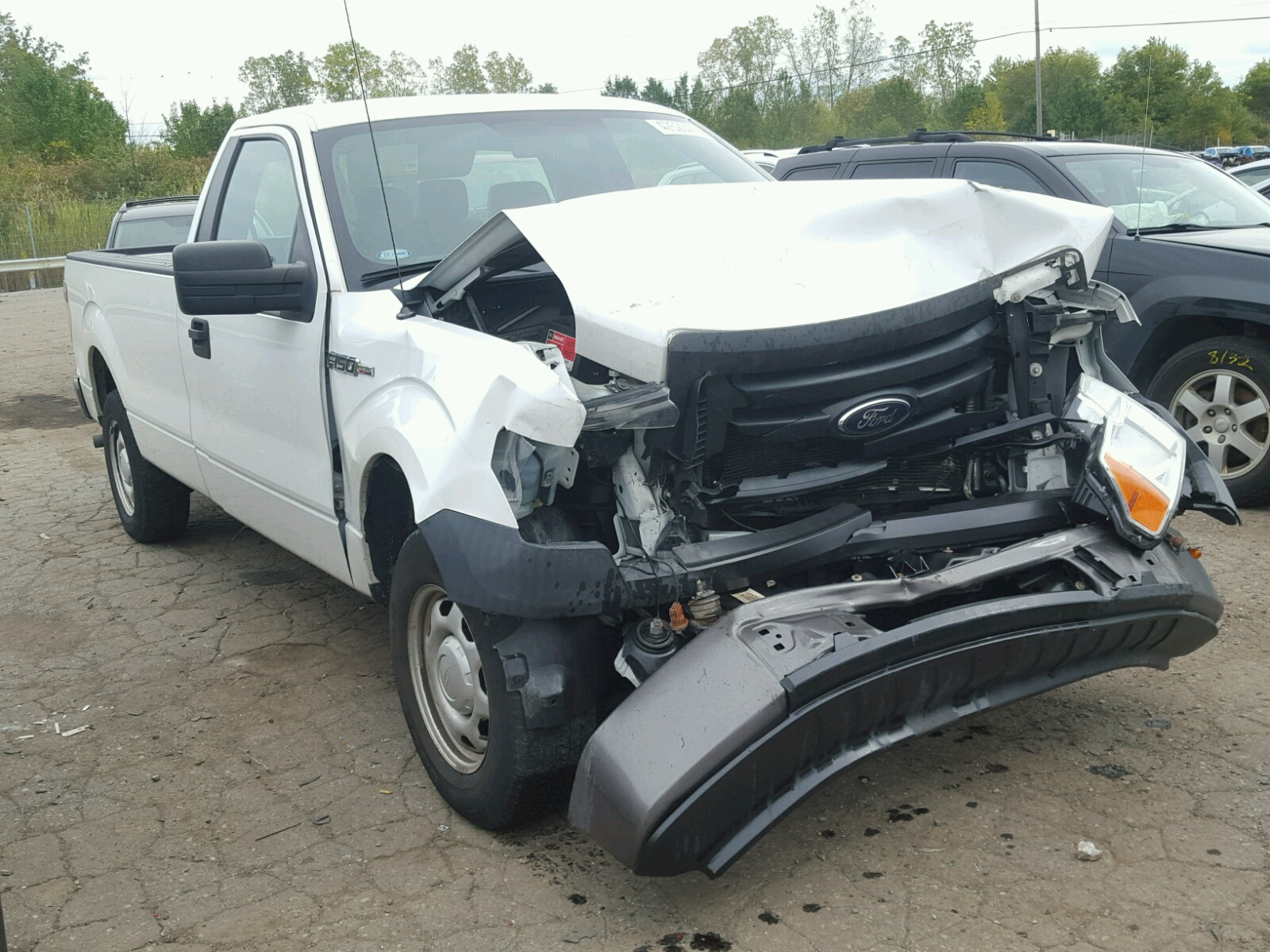 Salvage 2012 Ford F150 for sale