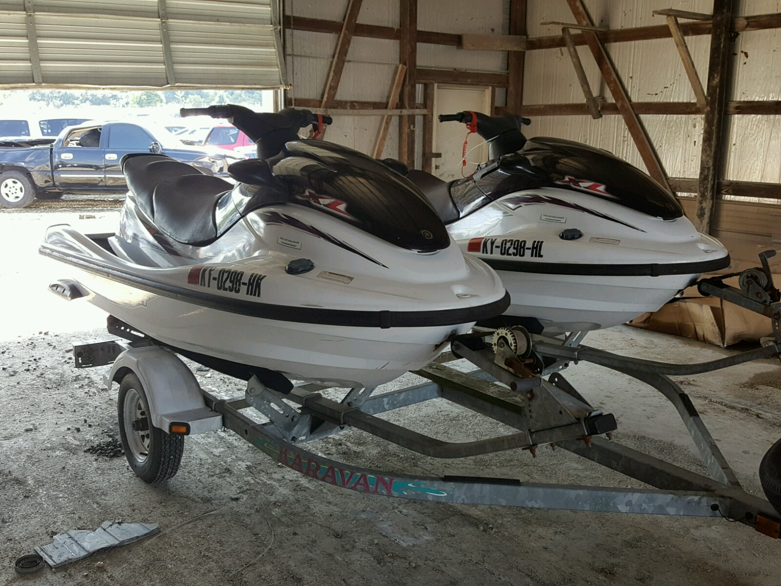 Salvage 1999 Yamaha XL1200 for sale