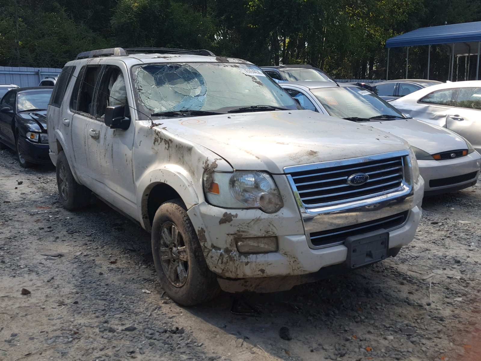 Salvage 2010 Ford EXPLORER X for sale