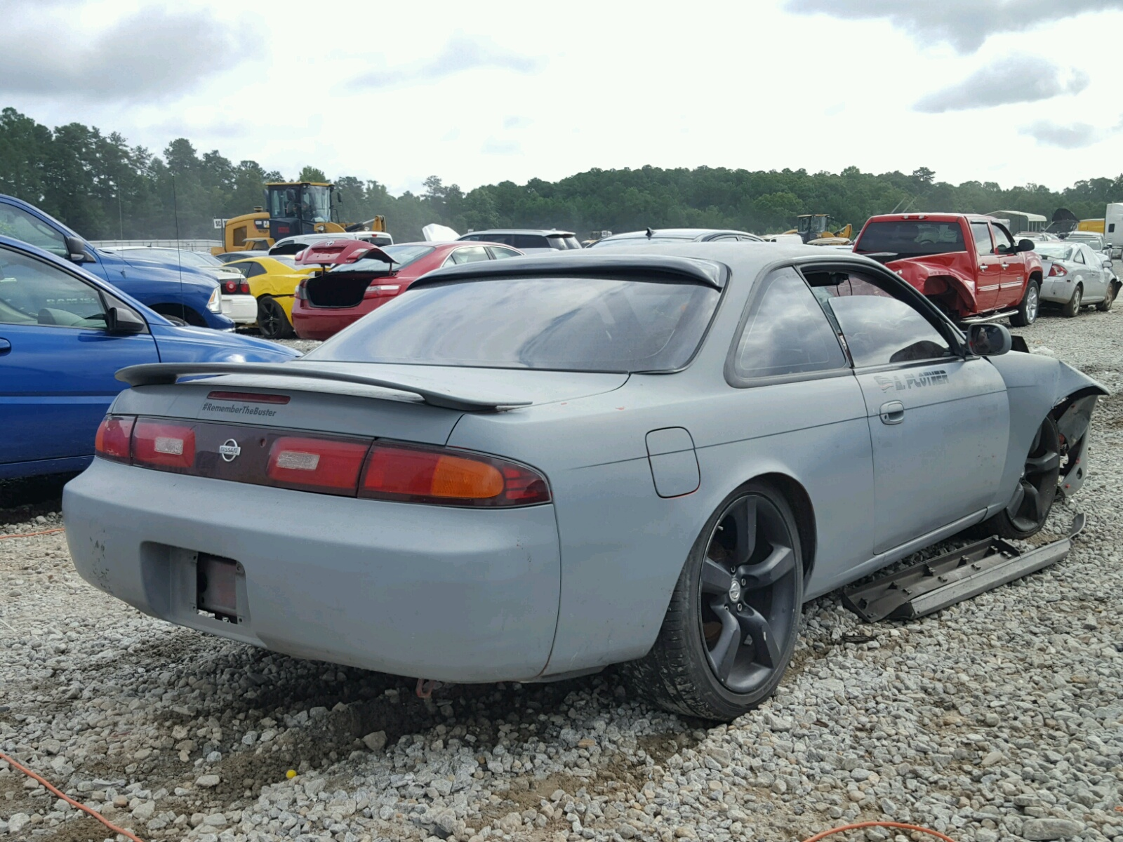 1995 Nissan 240sx Base For Sale At Copart Ellenwood Ga Lot 43490598 1998