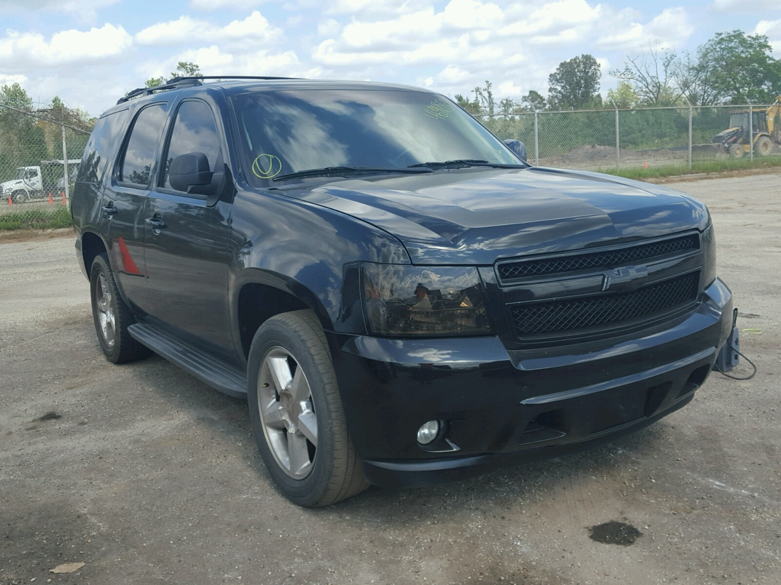 Salvage 2009 Chevrolet TAHOE C150 for sale