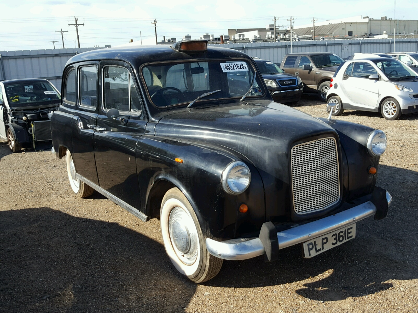 Salvage 1967 Austin TAXI for sale